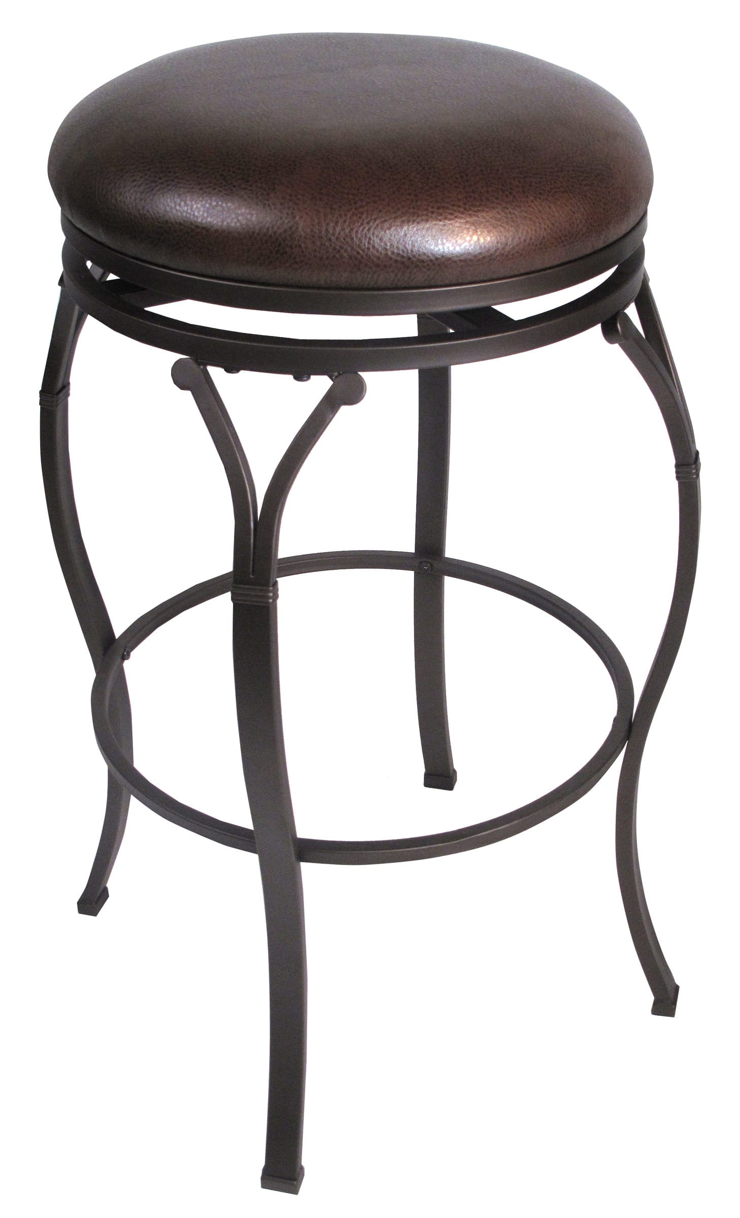 Magnificent Lakeview Backless Swivel Counter Stool 4264 828 By Hillsdale Creativecarmelina Interior Chair Design Creativecarmelinacom