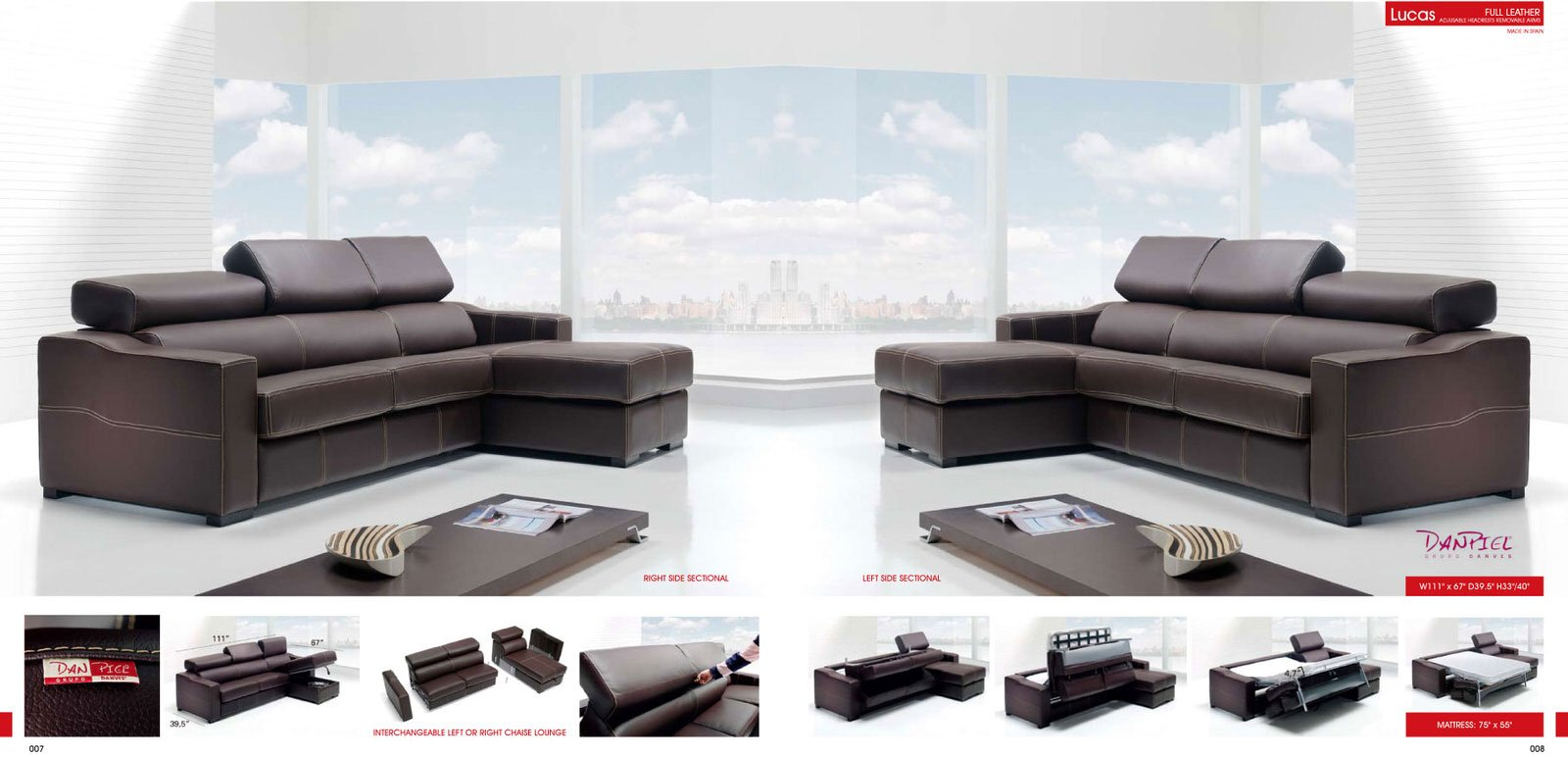 Sectional Lucas Brown By ESF