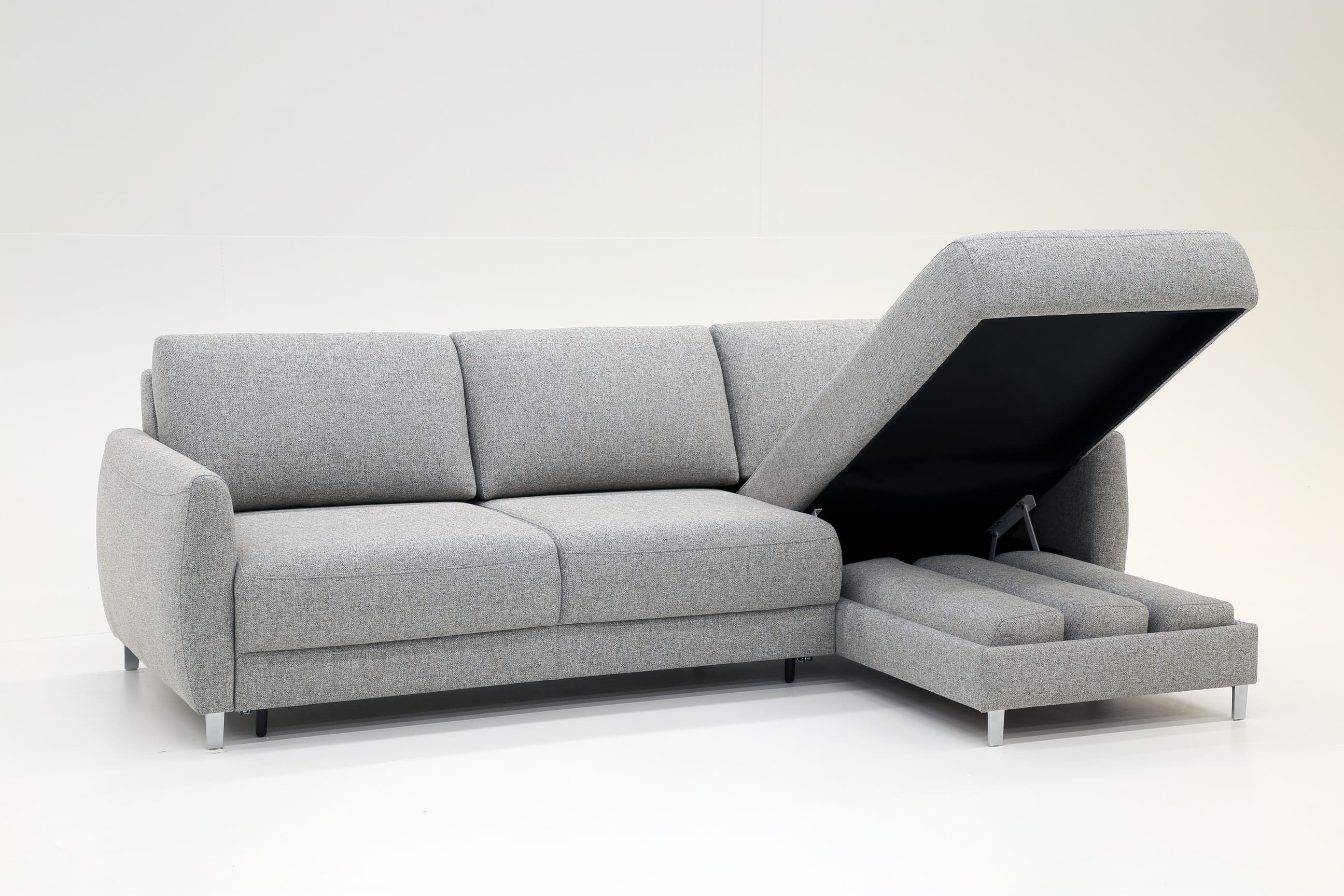 Delta Sectional Sofa Sleeper RHF by Luonto Furniture