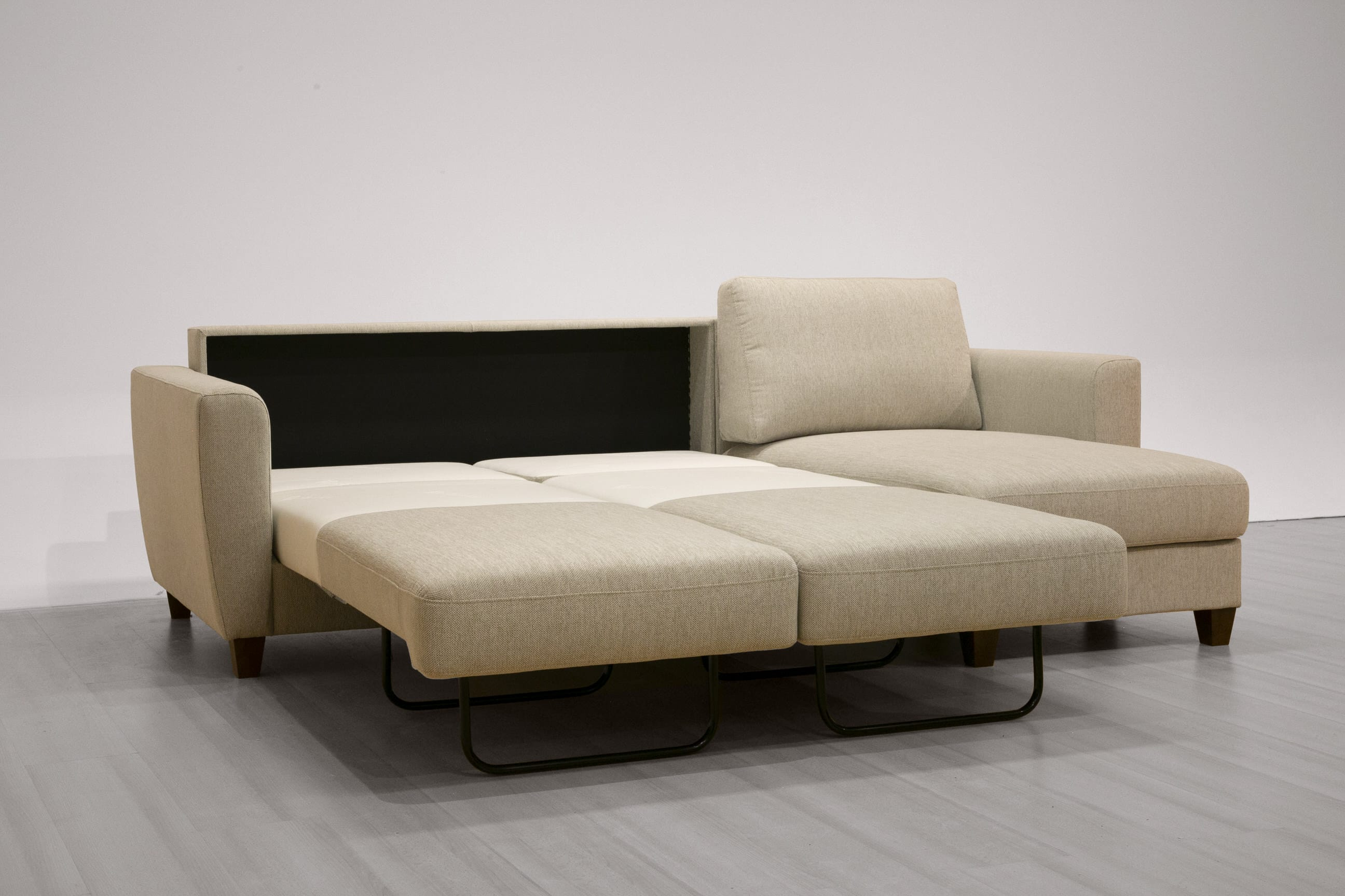 Flex Sectional Sofa Sleeper (Full Size) RHF by Luonto Furniture