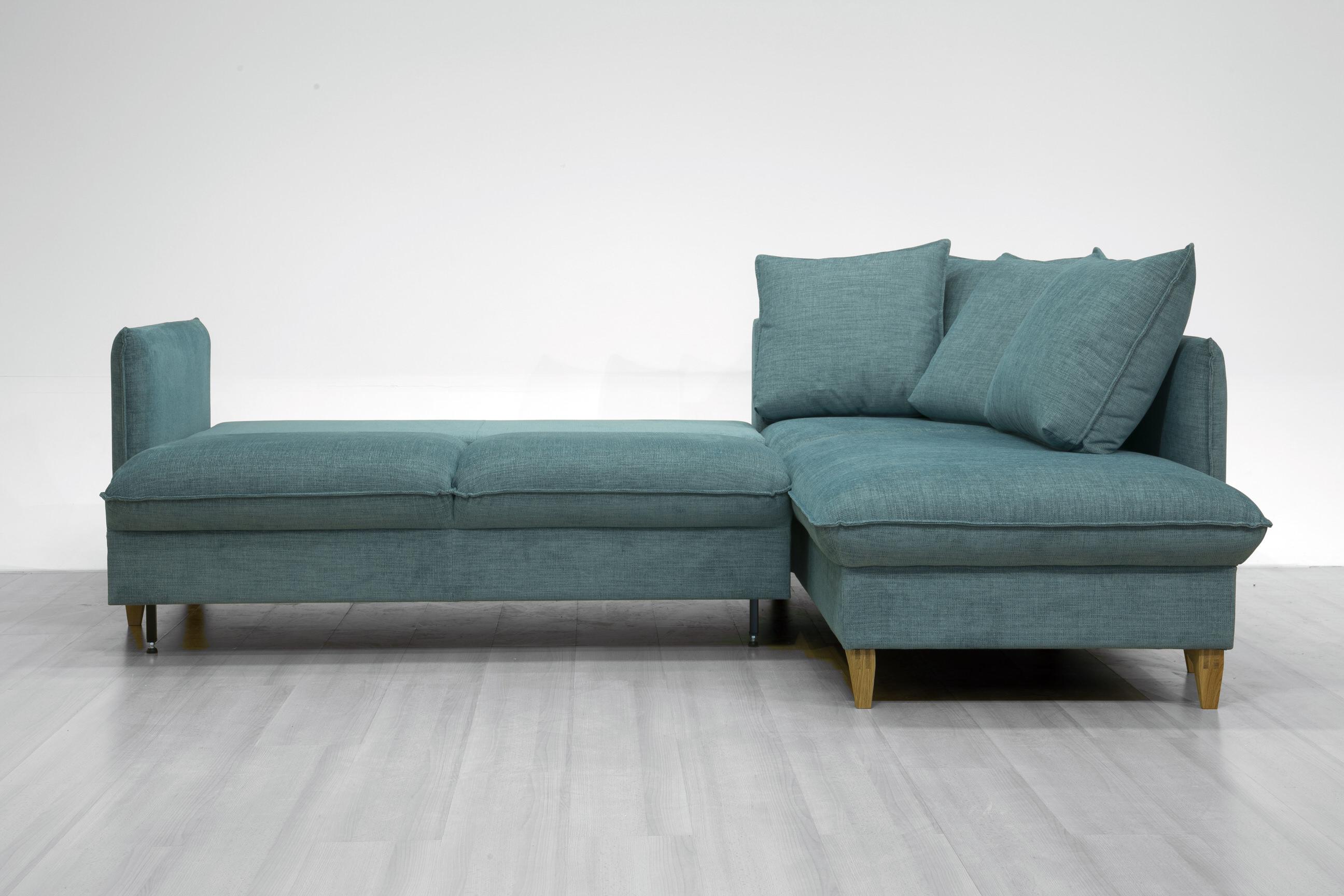 Flipper Sectional Sofa Sleeper Full Xl Size Rhf By