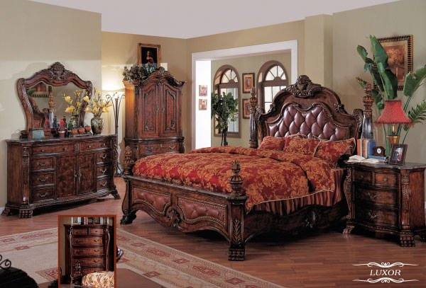 Luxor Bedroom Set By Meridian Furniture