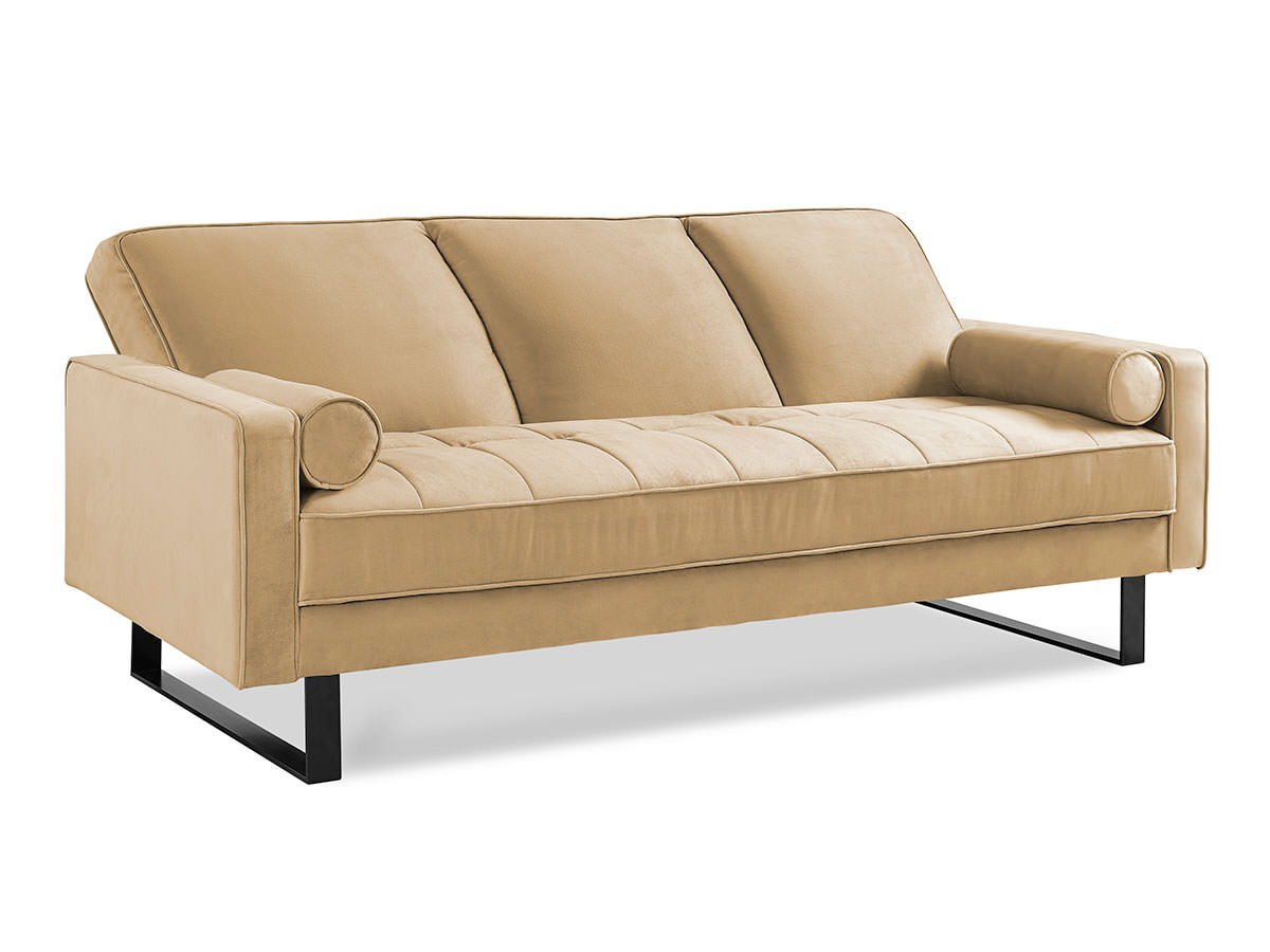 Malta convertible sofa taupe by serta lifestyle for Sofa bed 3 2