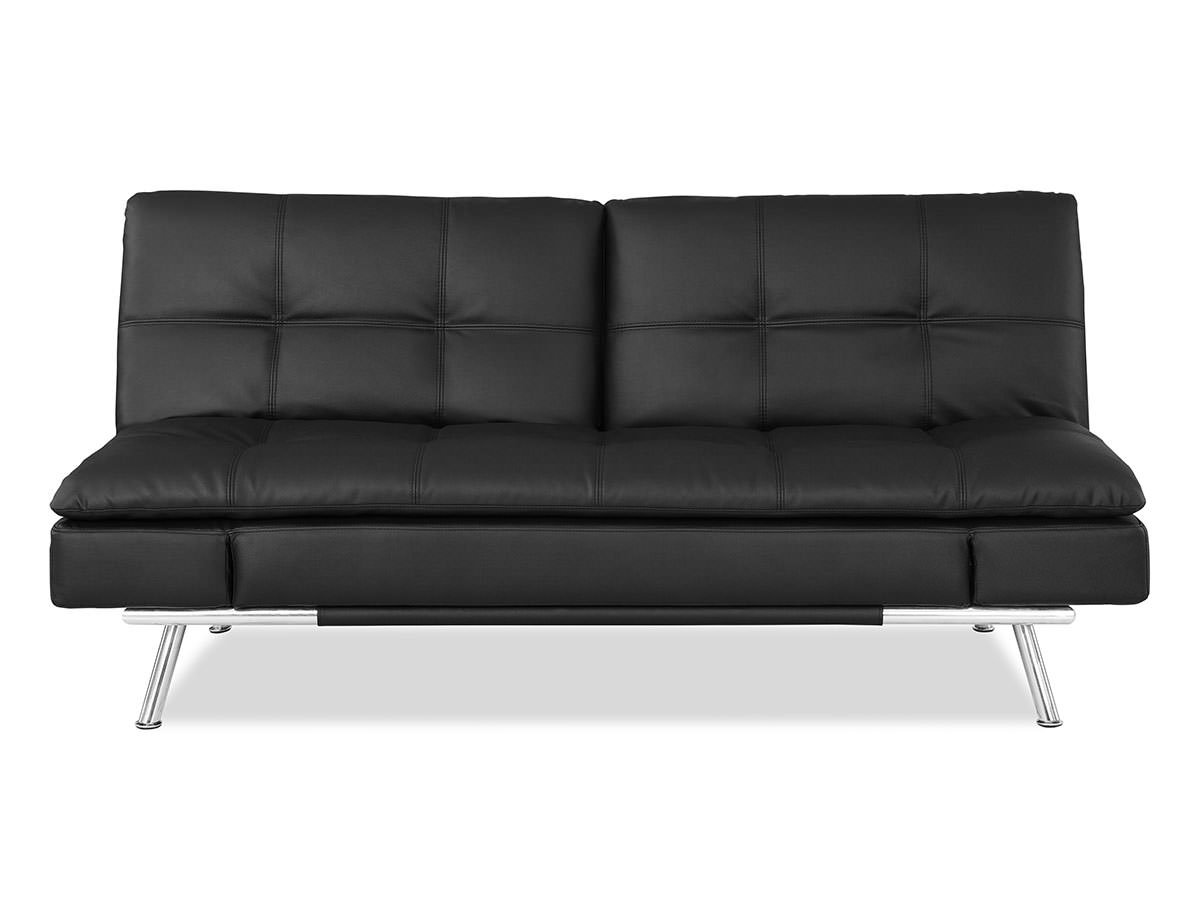 Matrix Convertible Sofa Bed Black By Lifestyle Solutions