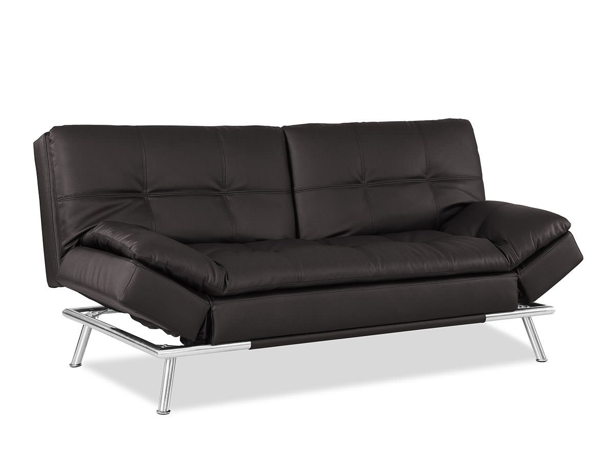 Matrix convertible sofa bed java by lifestyle solutions for Divan convertible