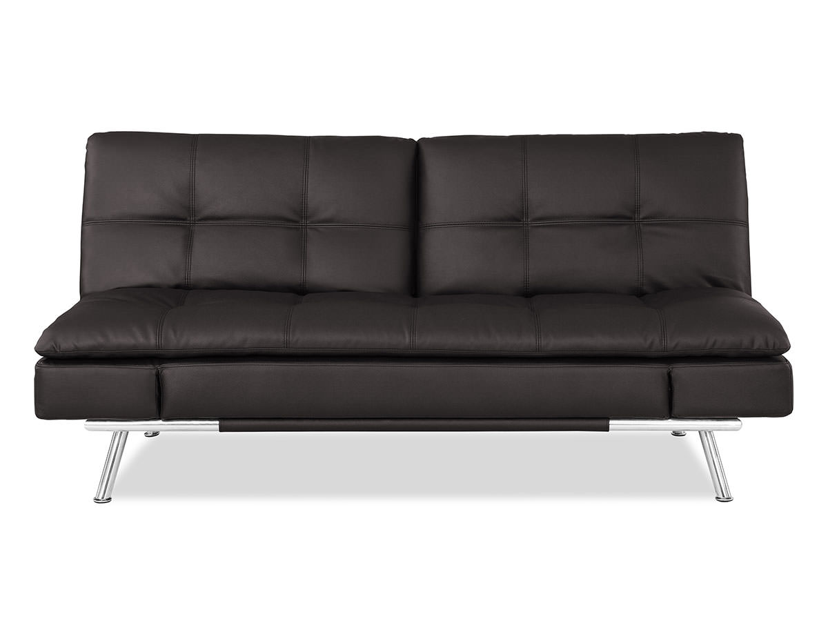 matrix convertible sofa bed java by lifestyle solutions -