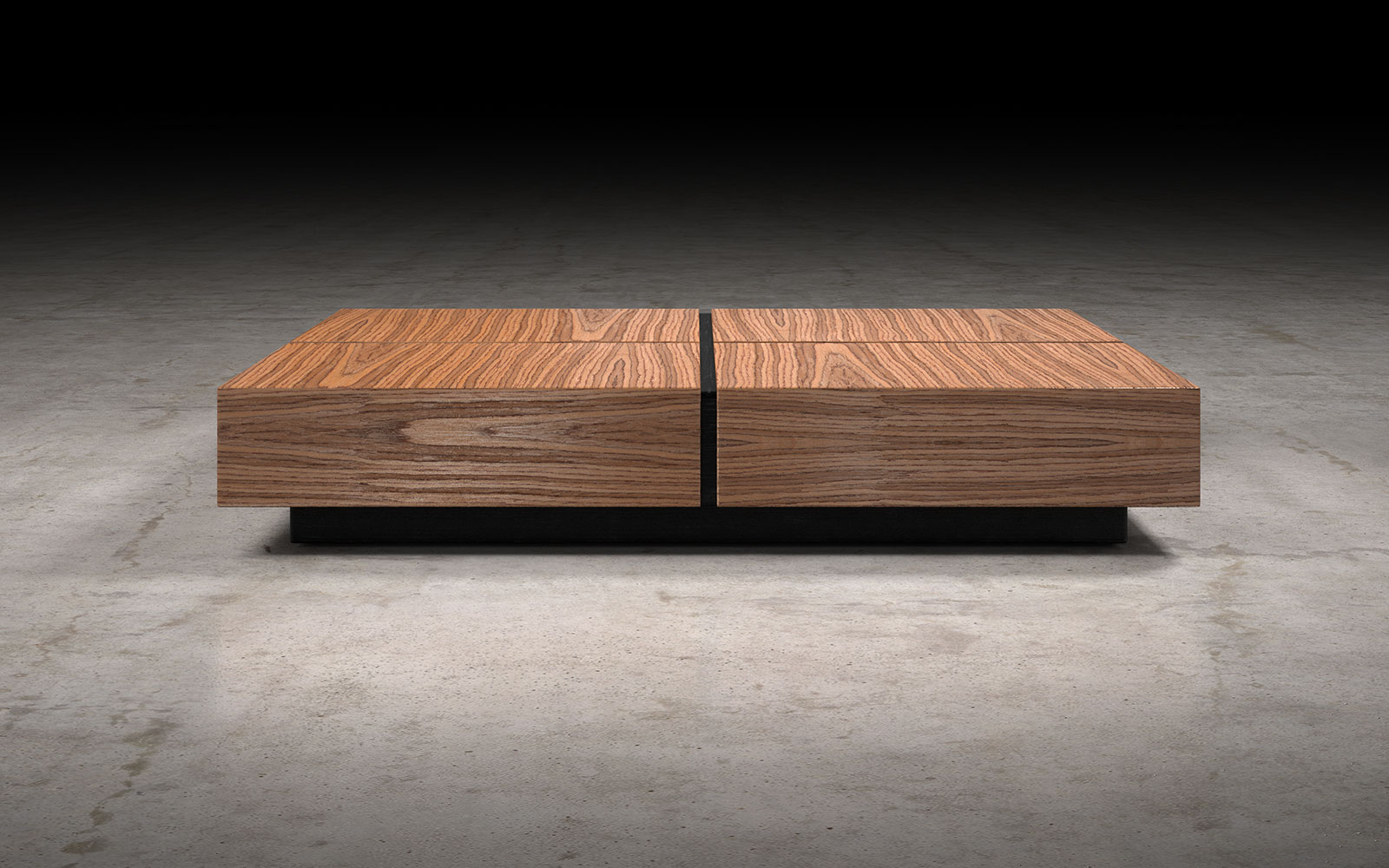 Dean coffee table teak by modloft geotapseo Image collections