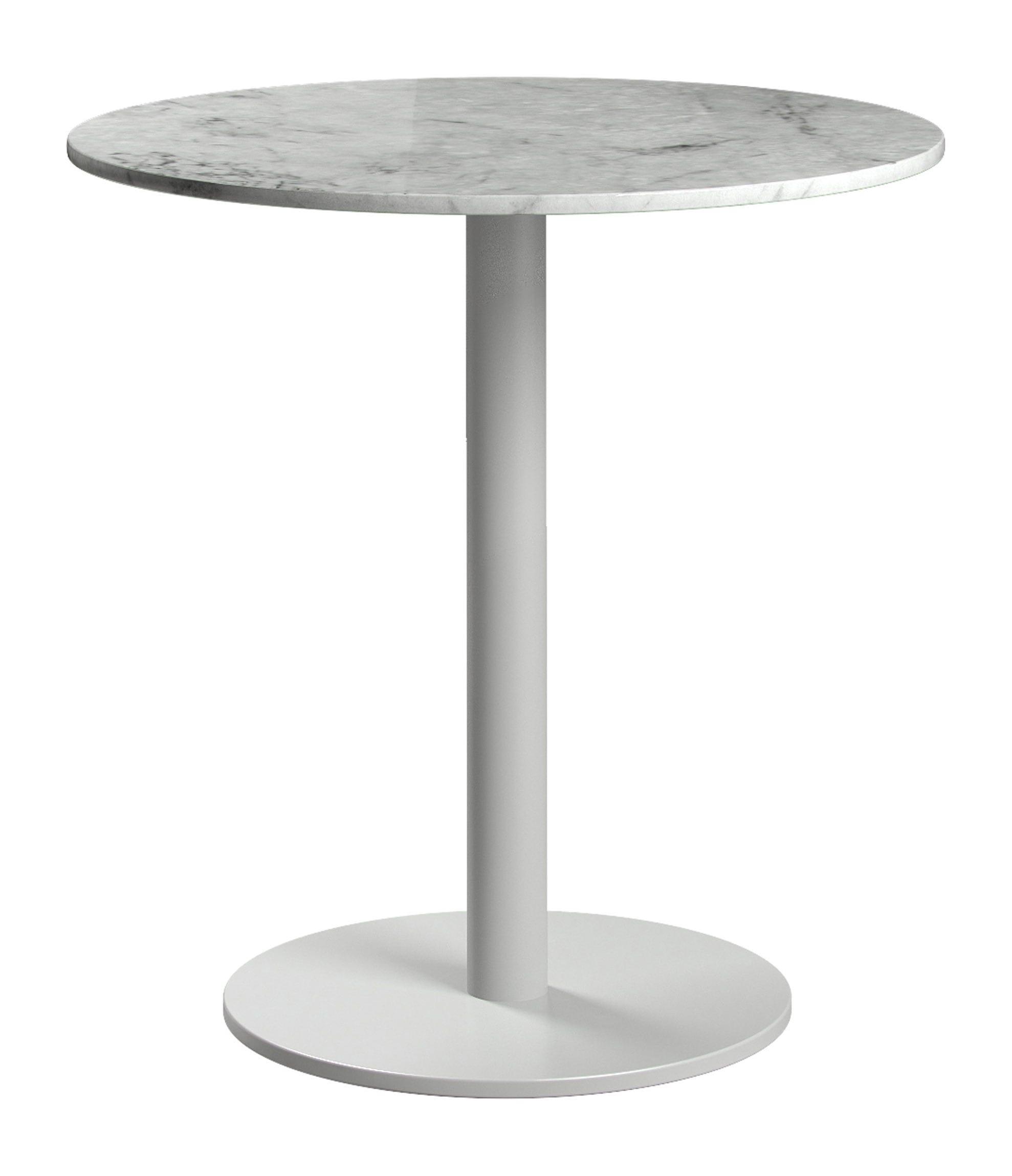 bleecker side table white marble by modloft. Black Bedroom Furniture Sets. Home Design Ideas