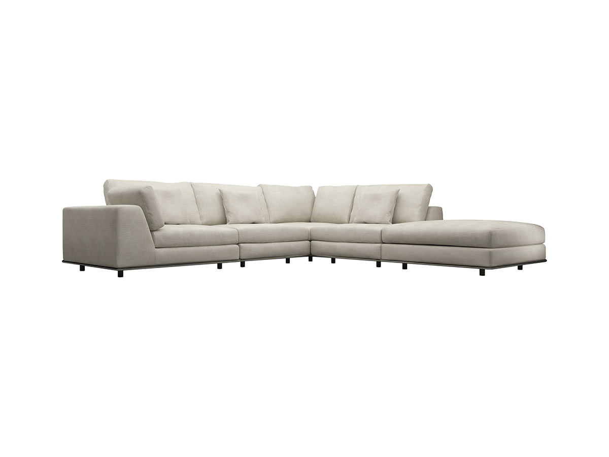 Design Corner Sectional Sofa perry 1 arm corner sectional sofa moonbeam by modloft