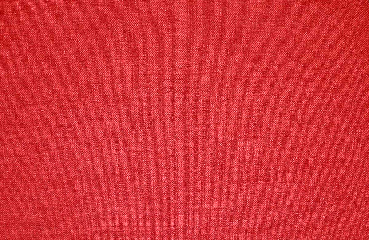 Medley Red Linen Texture Futon Cover By Prestige