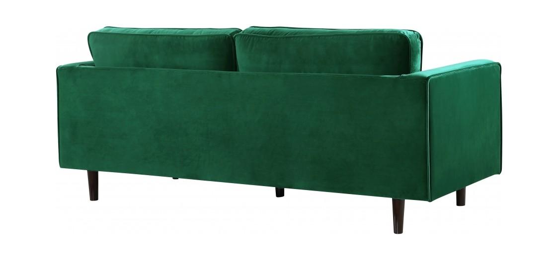 Emily Green Velvet Sofa By Meridian Furniture