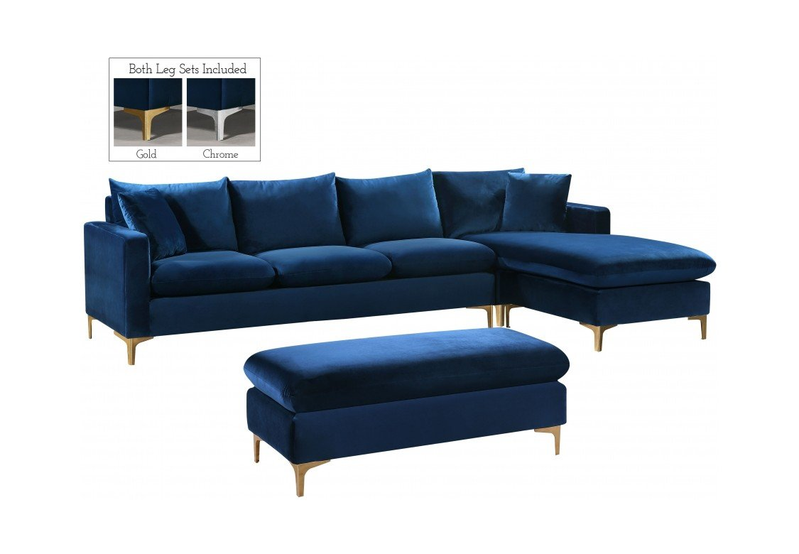 Two Piece Sectional Sofa By Meridian