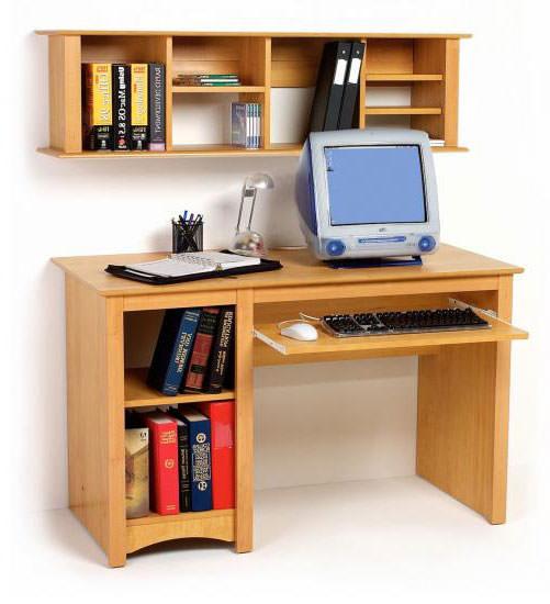 Wall Mounted Desk Hutch Bookshelf By Prepac
