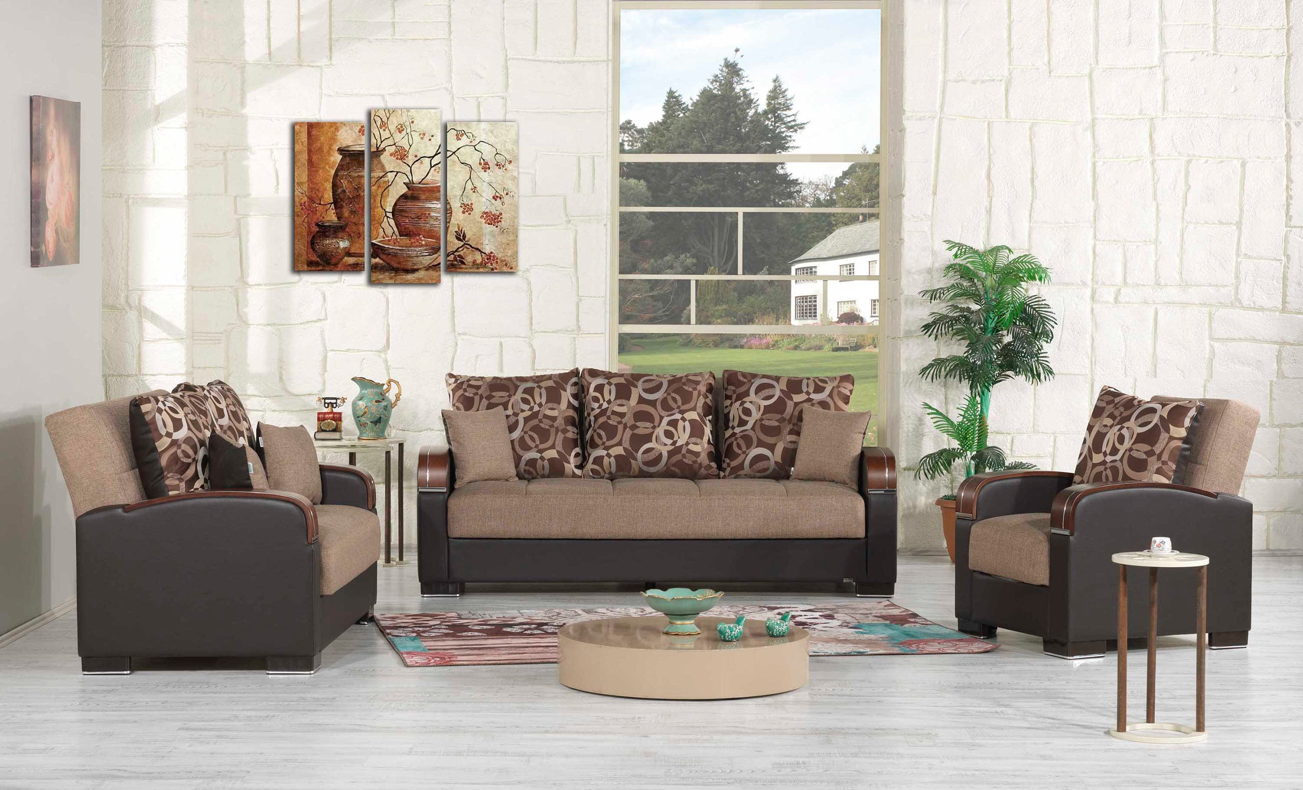 couch loveseat furniture ceni century pyrite mid brown product scandinavian modern article loveseats and gray