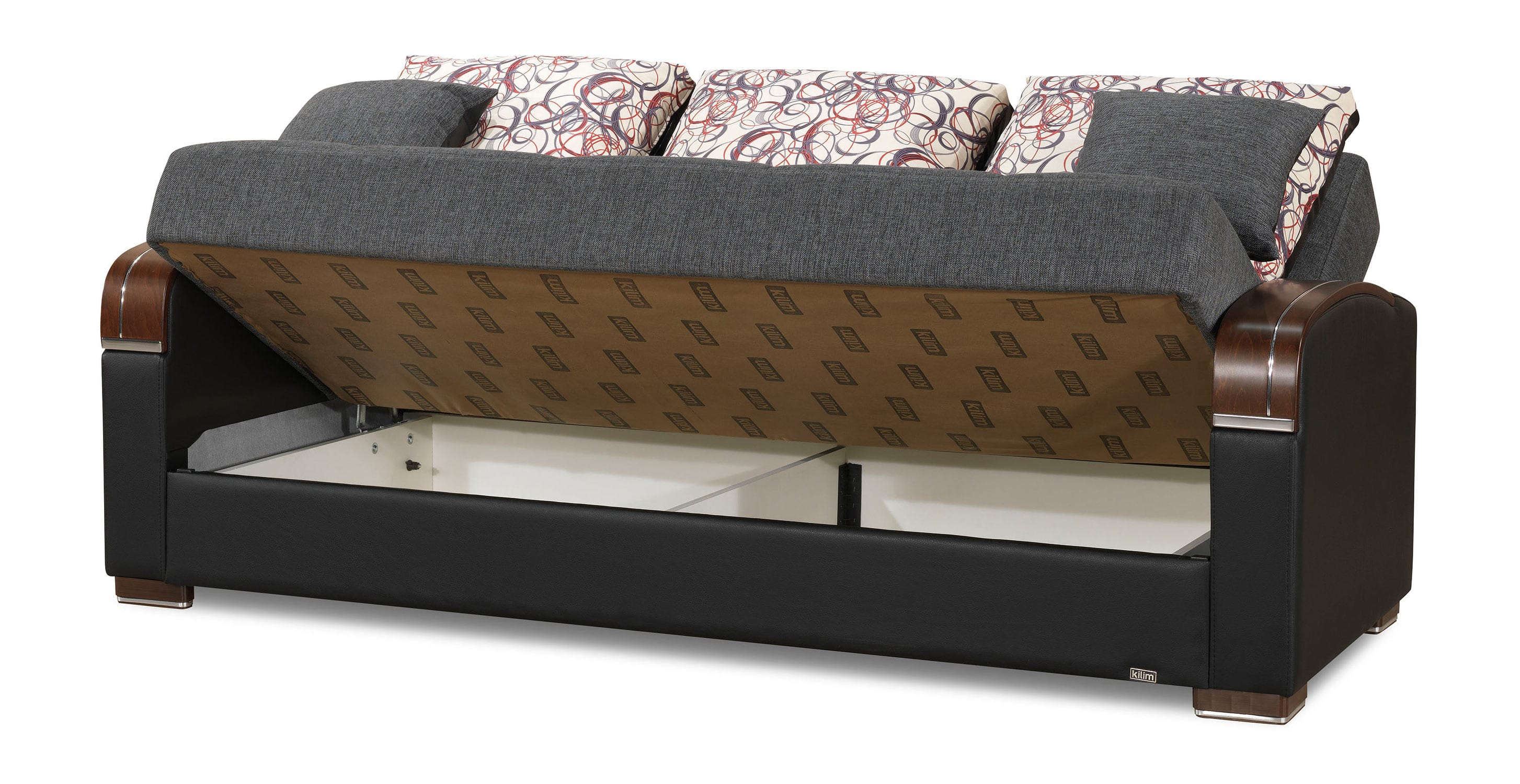 Mobimax Gray Convertible Sofa Bed by Casamode