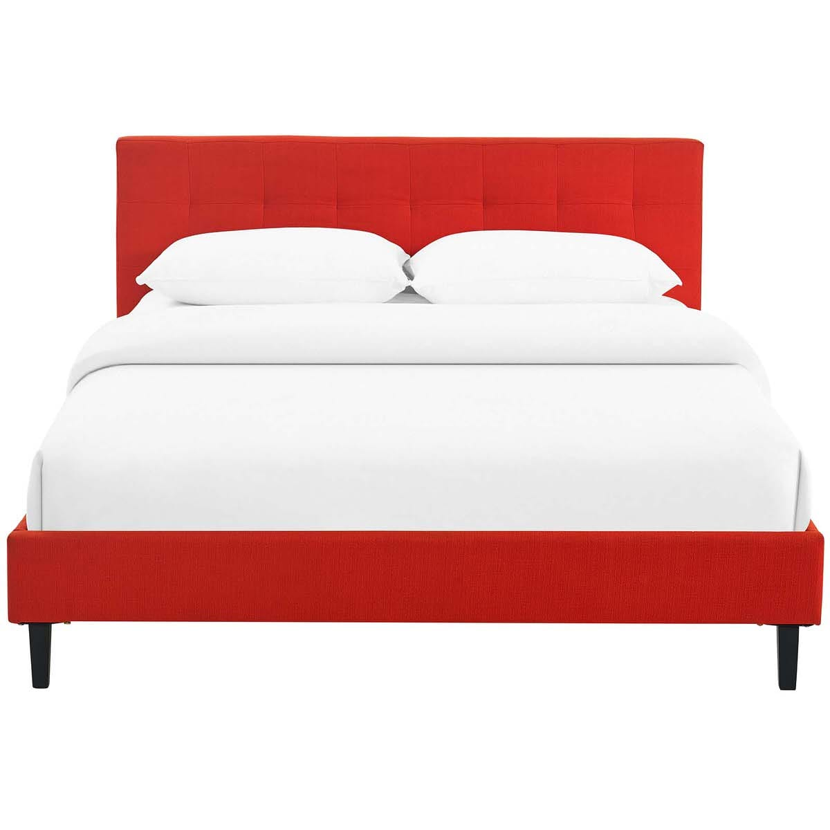 Linnea Full Bed Atomic Red by Modern Living