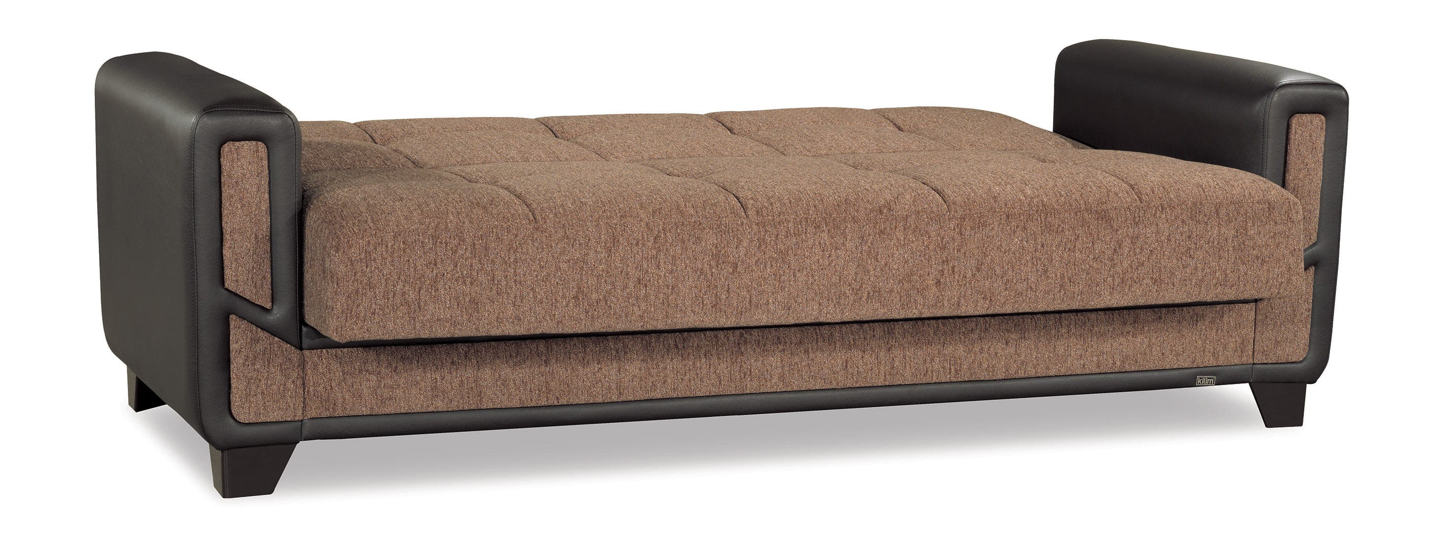 Mondo Modern Brown Convertible Sofa Bed by Casamode