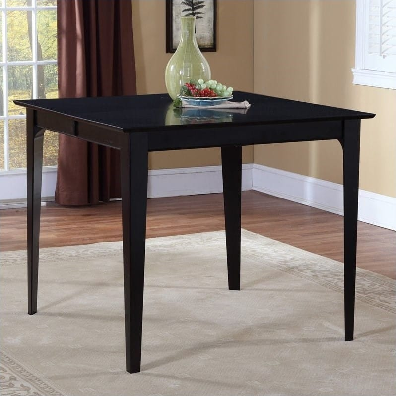 Montreal 36 X 48 Dining Table Espresso By Atlantic Furniture