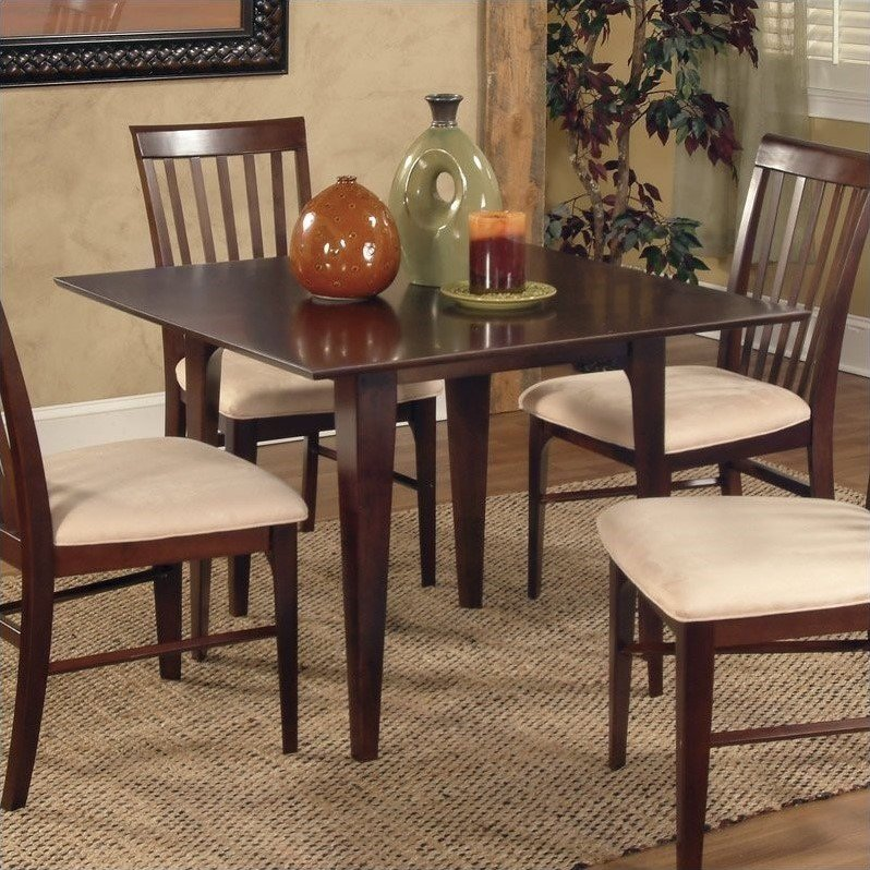 Montreal 36 X 60 Dining Table Caramel Latte By Atlantic