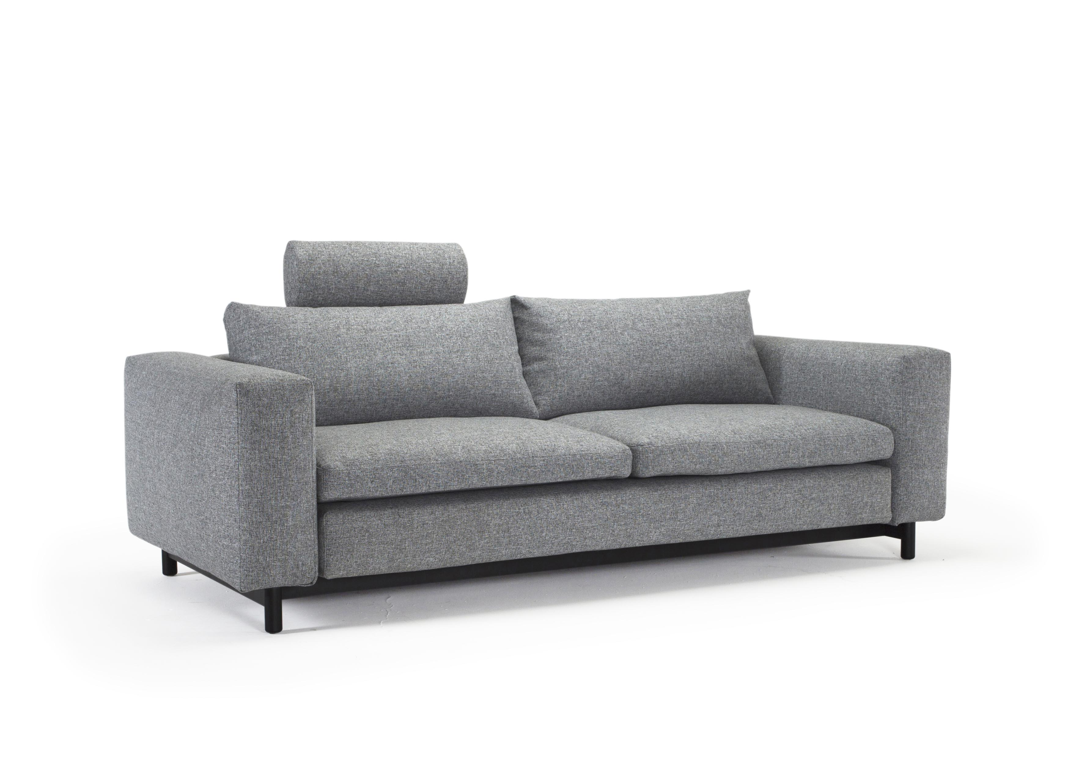 Magni sofa bed queen size twist granite by innovation Queen size sofa bed