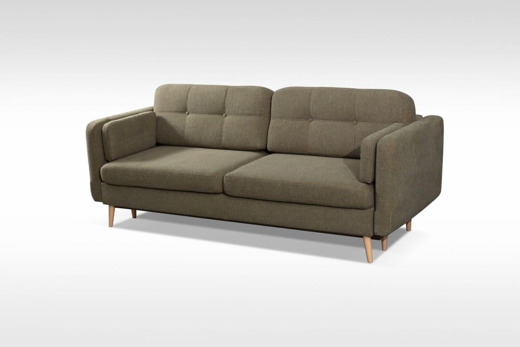 Manhattan Olive Sofa Queen Bed by Skyler Designs