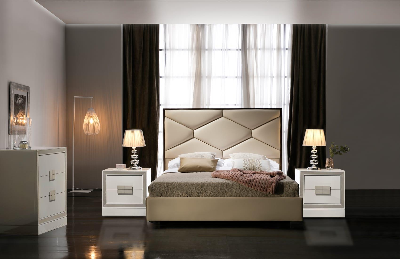 . Martina Beige Bedroom Set by ESF