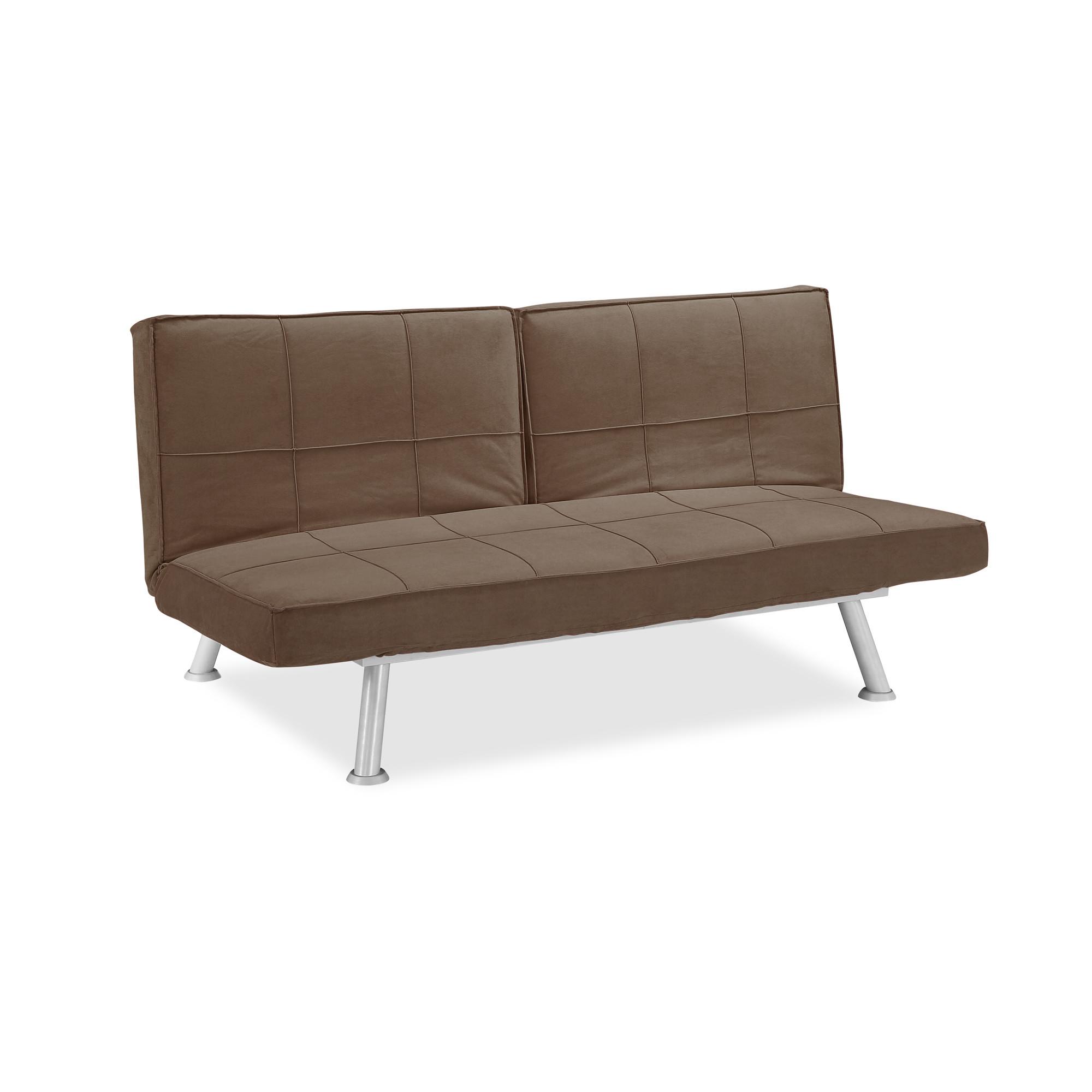 Maxson convertible sofa java by serta lifestyle for Sofa convertible 2 places
