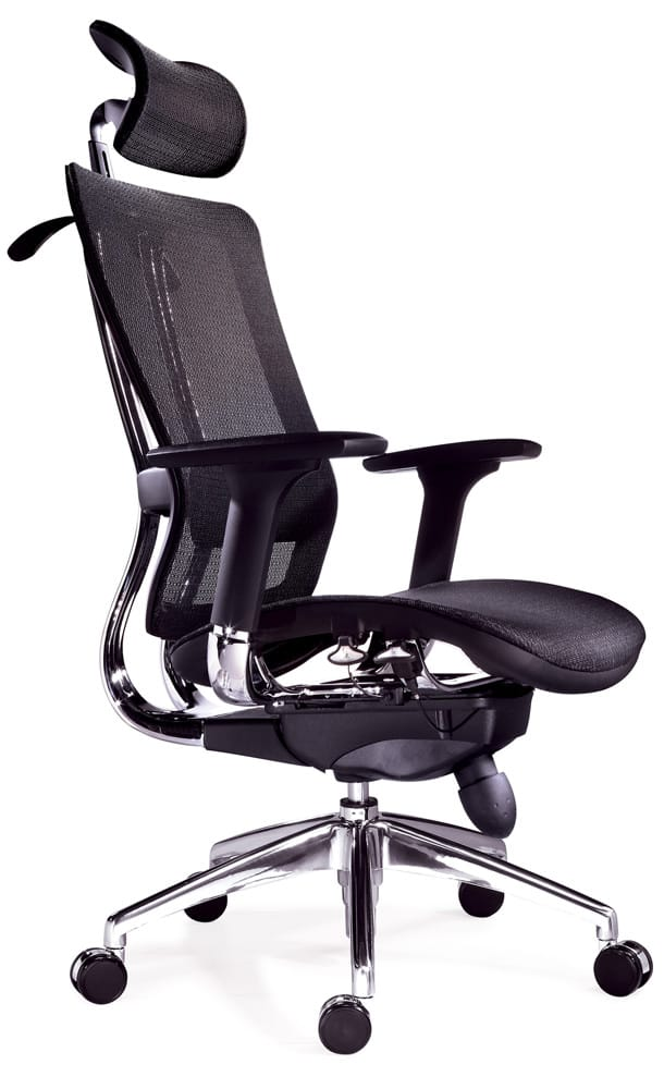 back chair malaysia bug chrome mid f leg frame ff mesh with white like swivel office