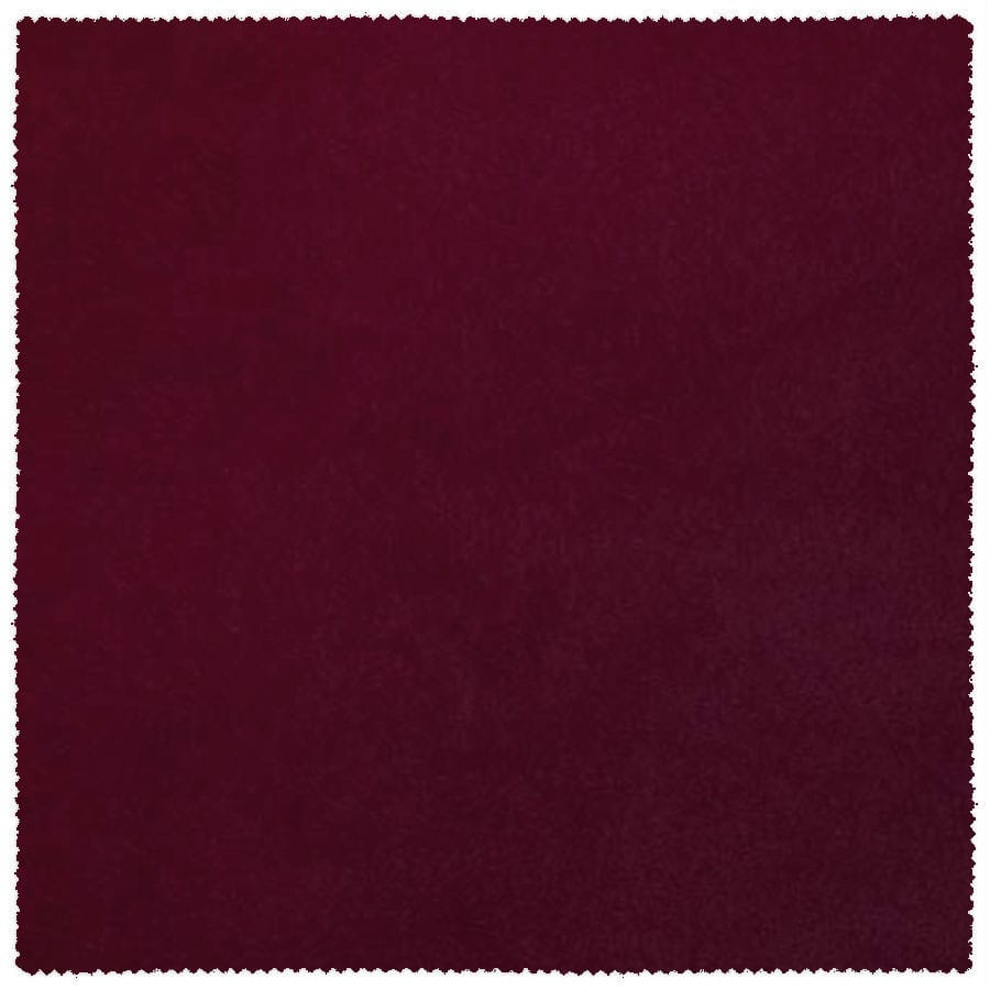 Ibiza Suede Texture Solid Burgundy Fabric (per Yard