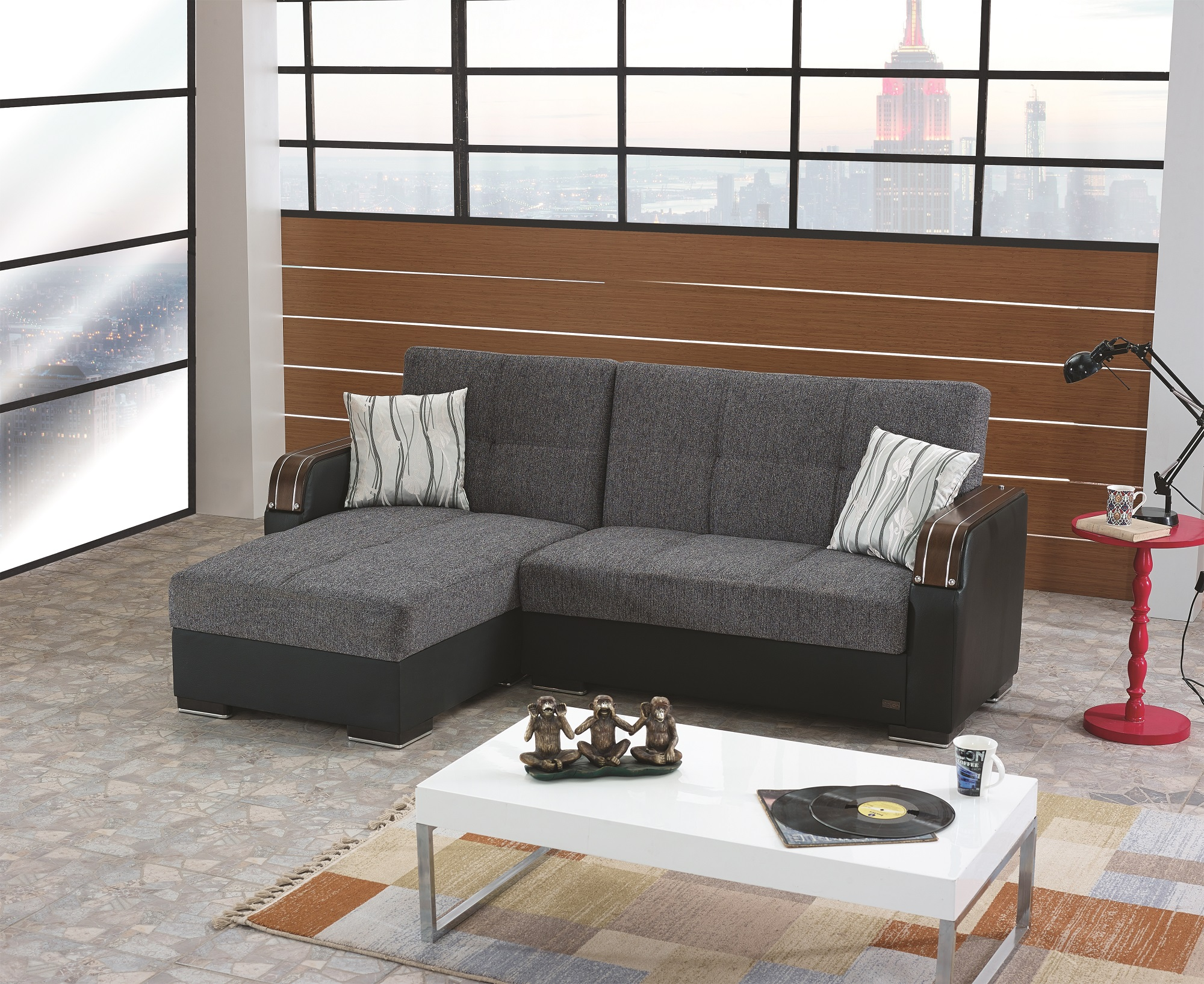 Minnesota Sectional Sofa by Empire Furniture USA