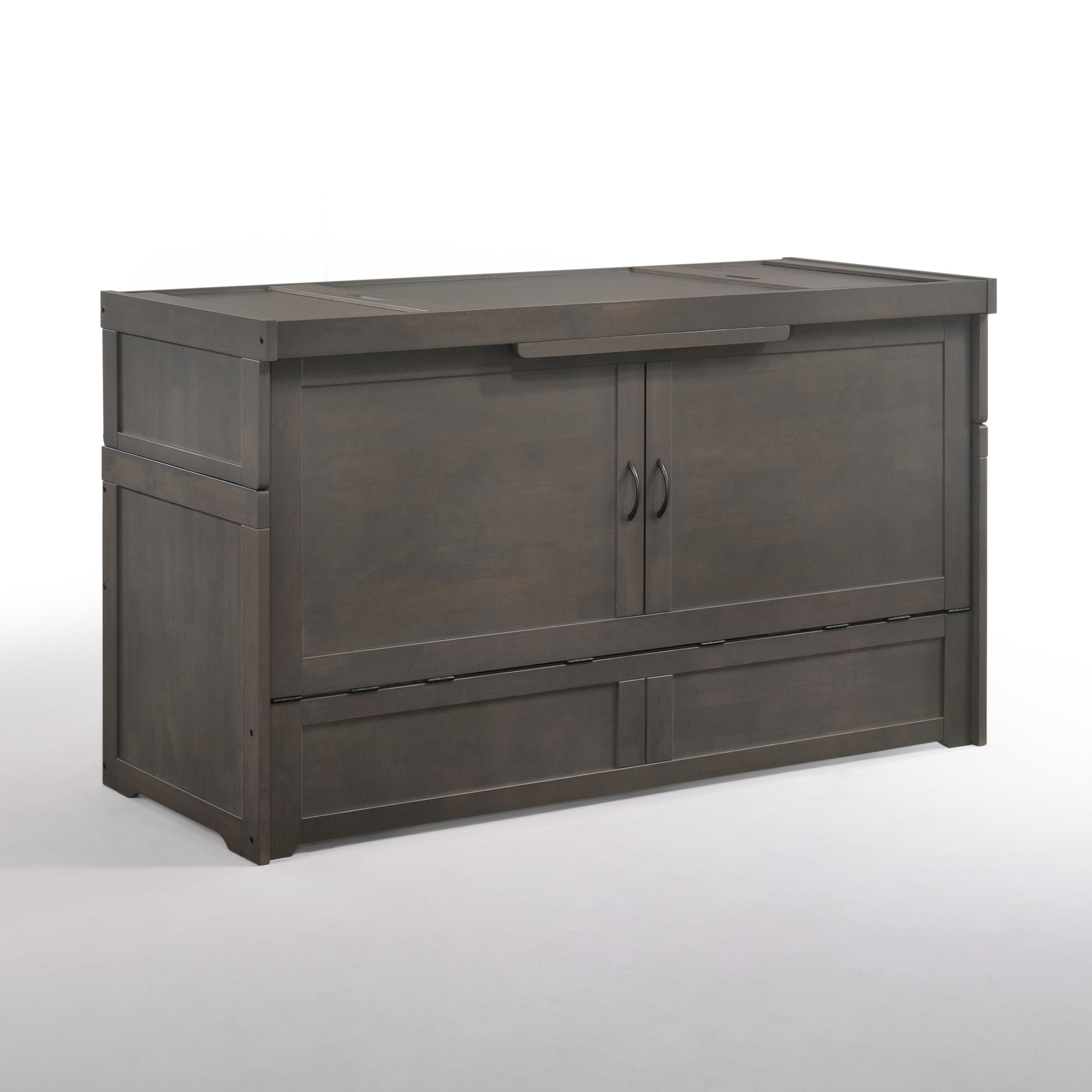 Cube Queen Murphy Cabinet Bed Stonewash By Night Day Furniture