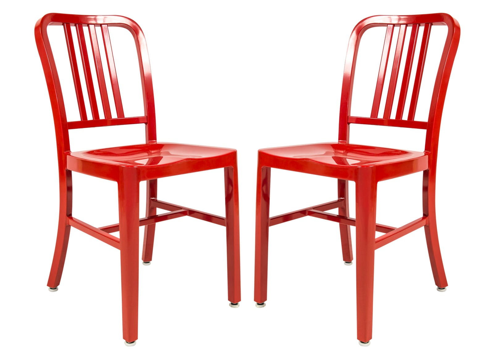 Outstanding Alton Modern Side Red Dining Chair Set Of 2 By Leisuremod Beatyapartments Chair Design Images Beatyapartmentscom