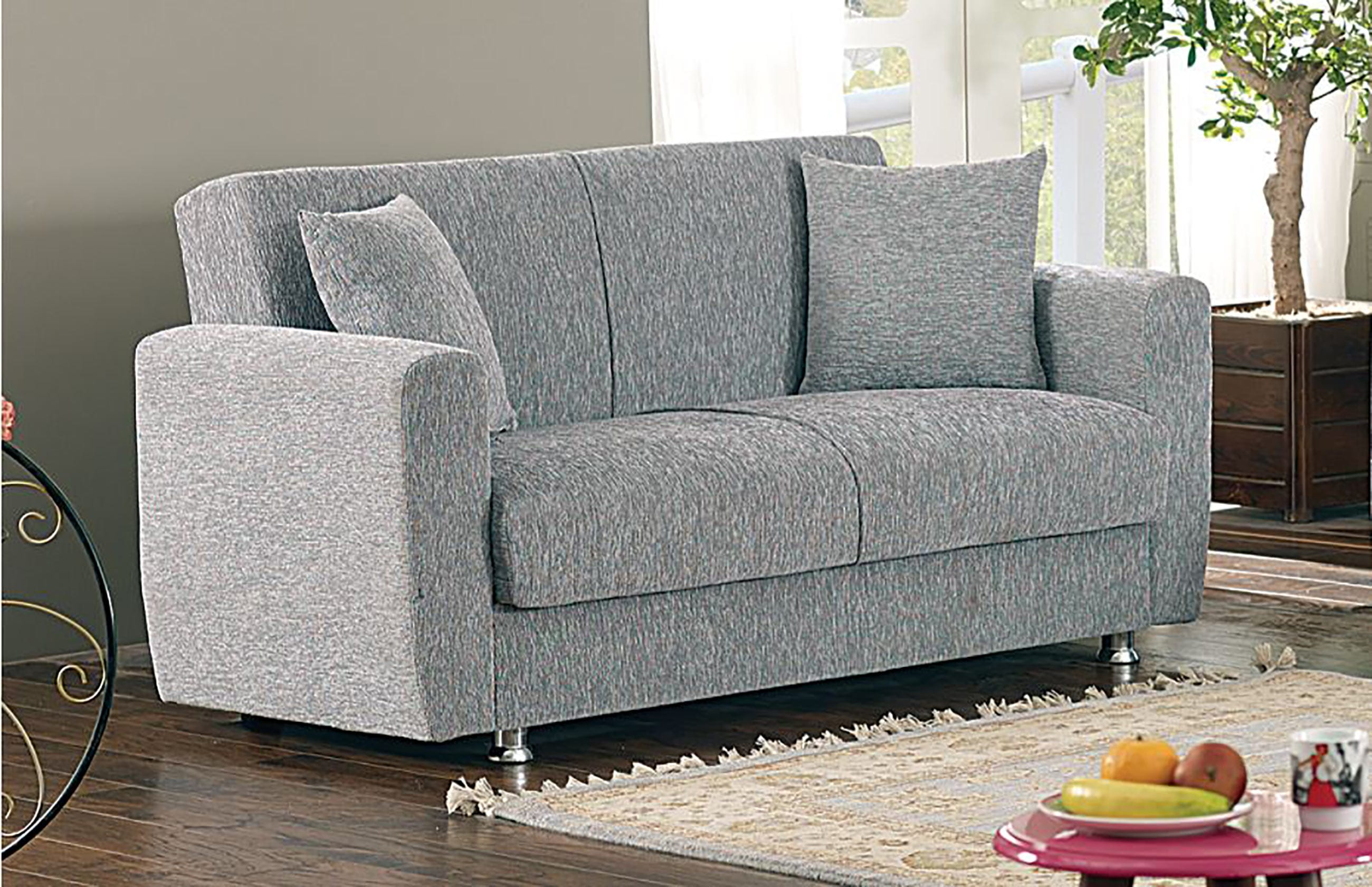 fabric montreal sofa beige loveseat furniture outlet v poundex stone steal a los