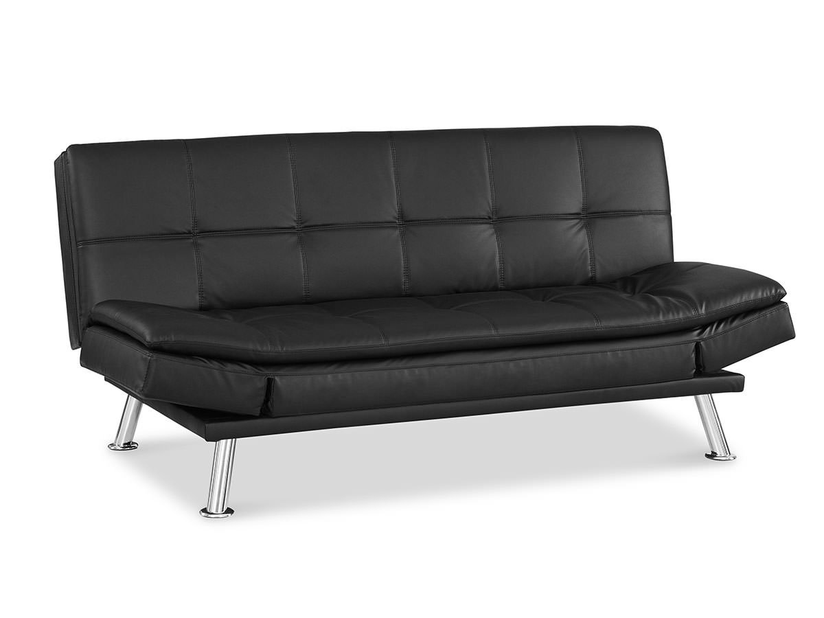 Niles convertible sofa black by serta lifestyle for Sofas convertibles