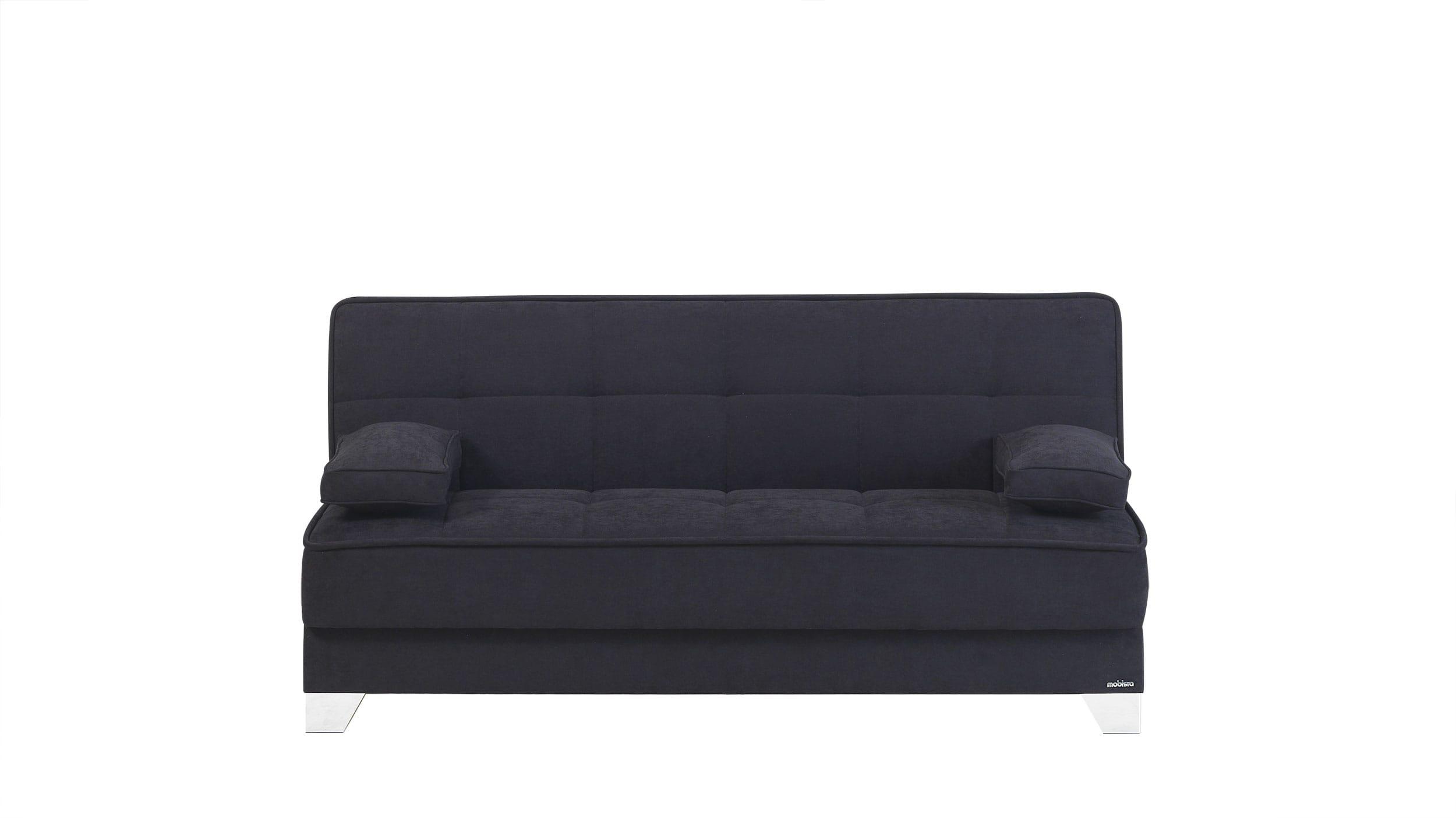 Nexo Carisma Black Sofa Bed by Mobista