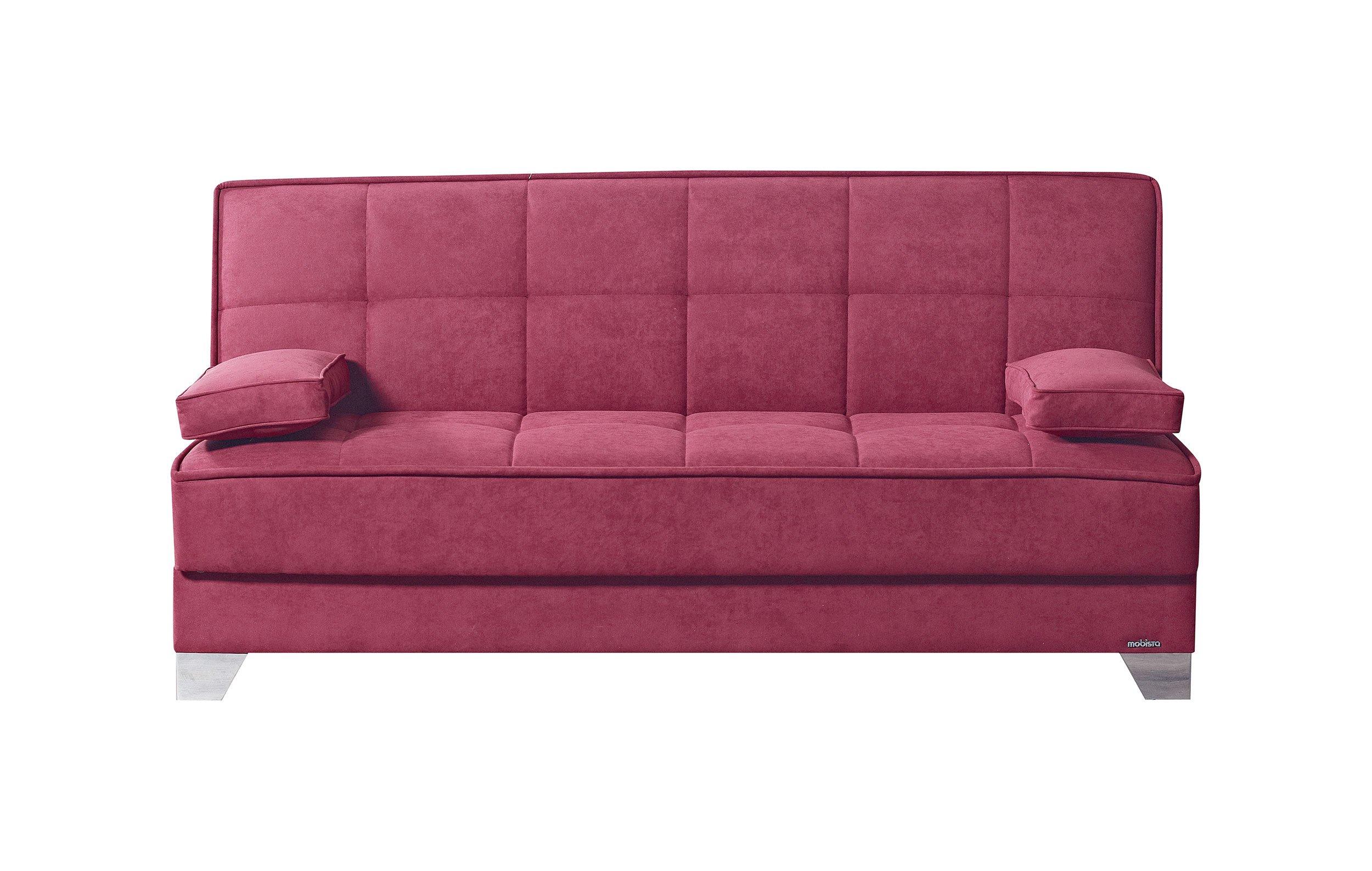 Nexo carisma burgundy sofa bed by mobista for Sofa bed name
