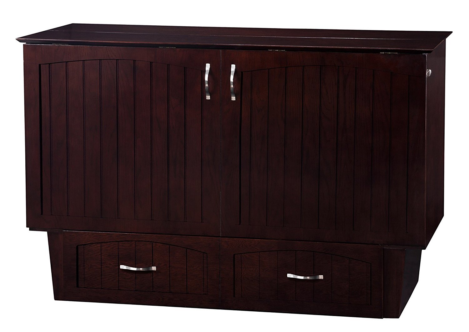 Nantucket Murphy Bed Chest Bed Espresso By Atlantic