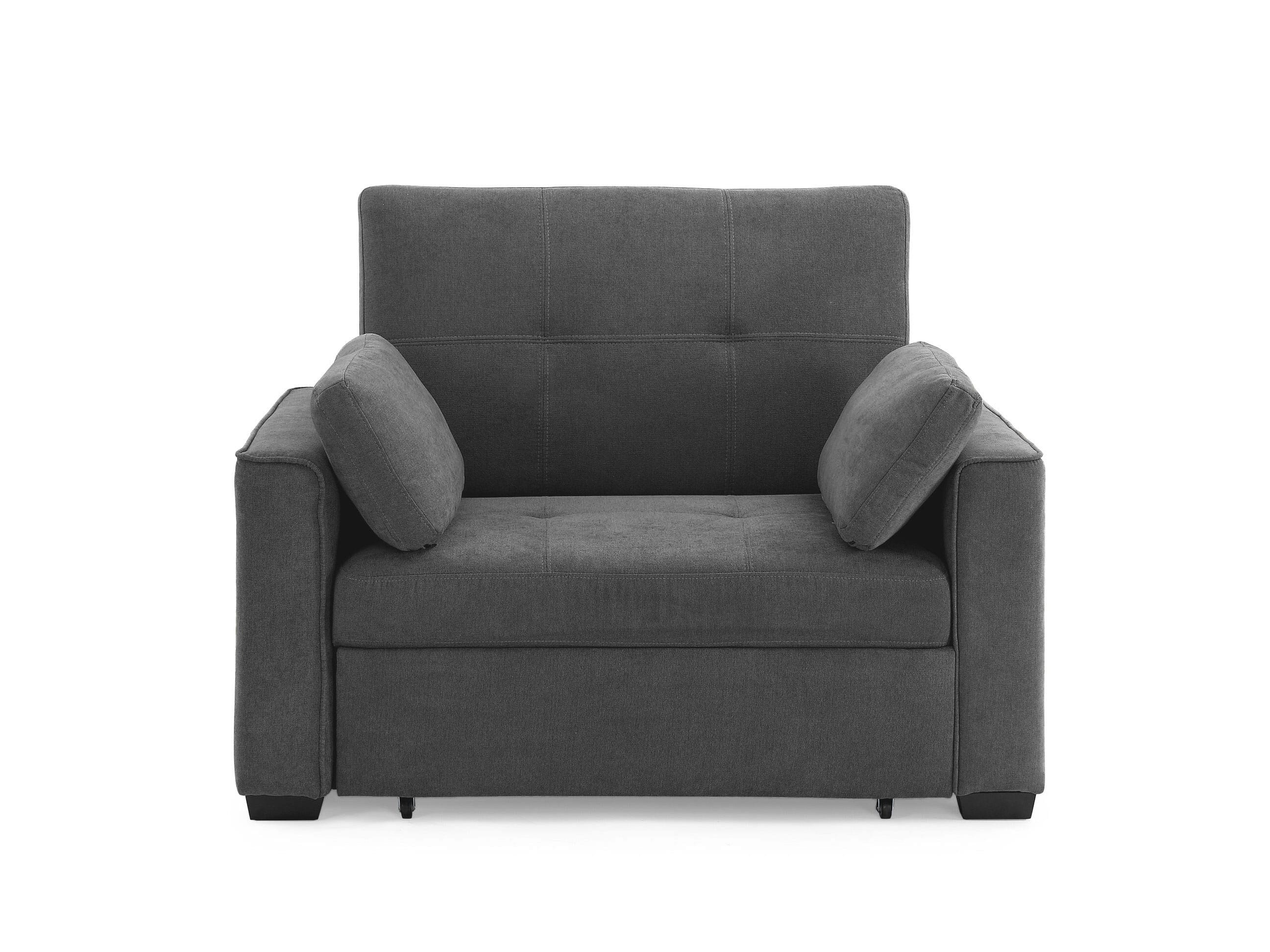 Picture of: Nantucket Twin Size Sleeper Dark Gray By Night Day Furniture