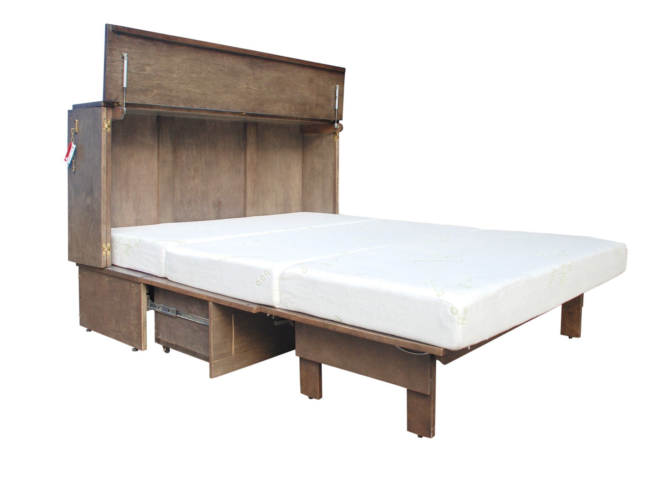 inch shipping garden kit free wall home bed bestar today overstock cielo product elite by murphy queen
