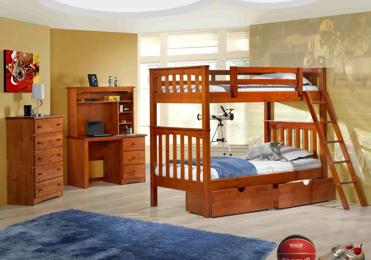 Oakland Bunk Bed Natural By Innovations