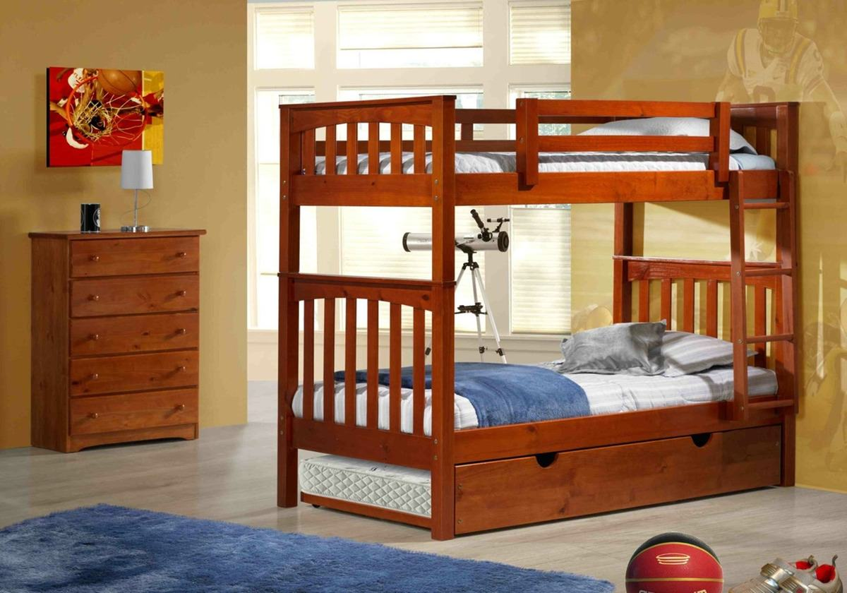 Oakland Bunk Bed Cherry By Innovations