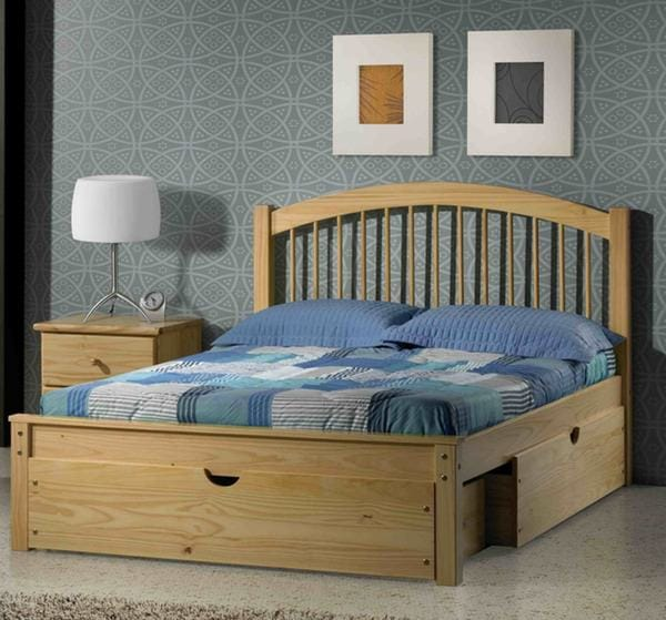 Orleans Platform Bed Natural By Innovations