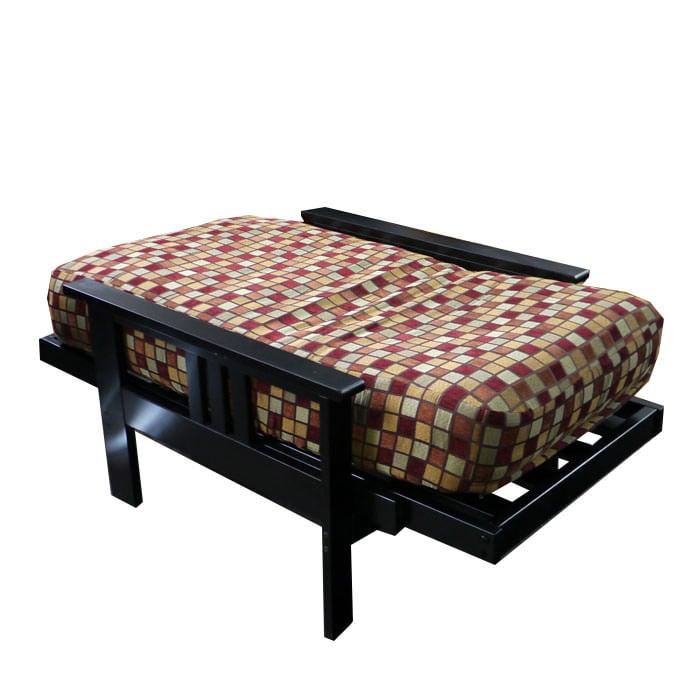 Monterey Chair Size Black Futon Set