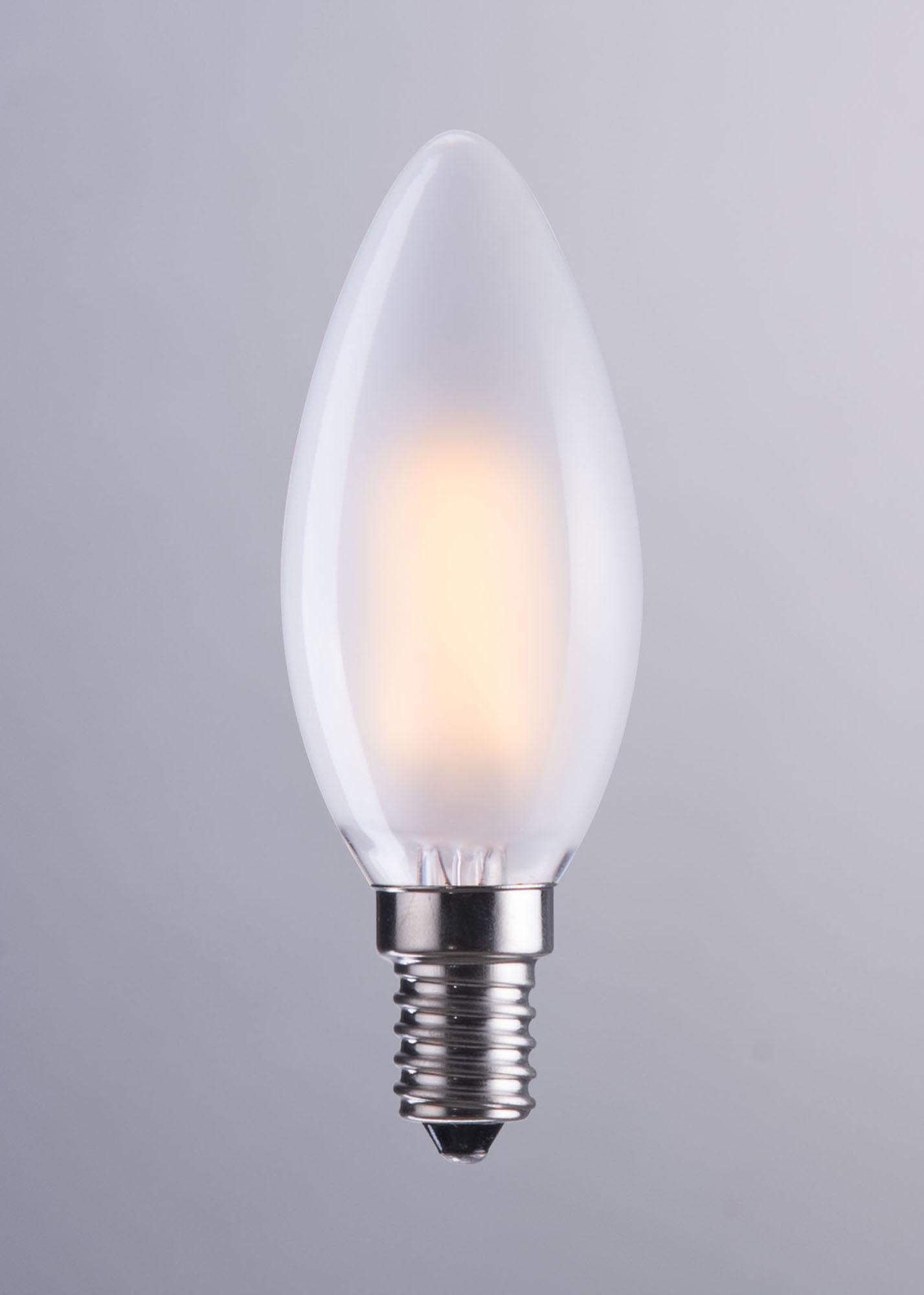 E12 Type B 4w Led 98x35mm F White Light Bulb By Zuo