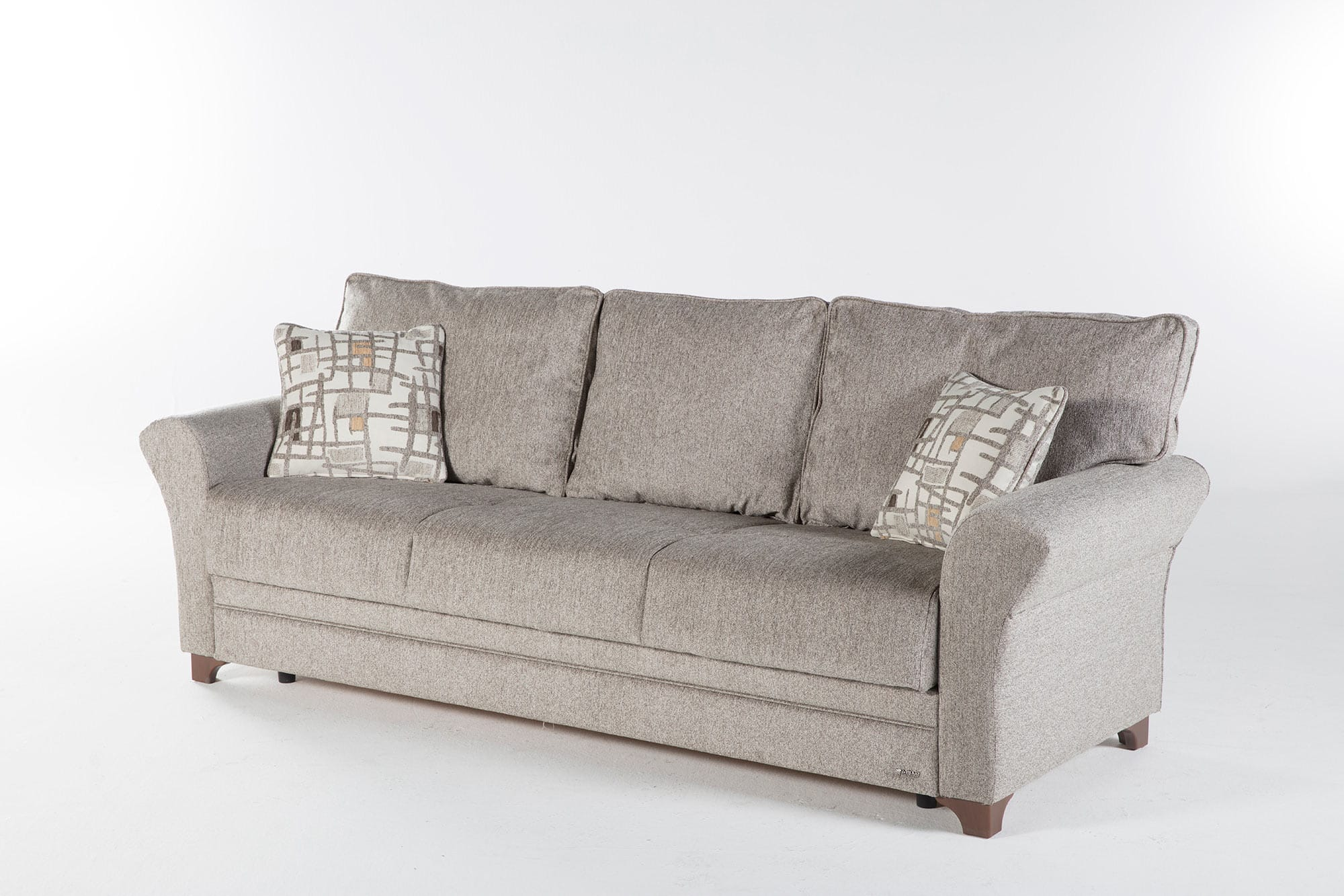 Padova Aristo Light Brown Convertible Sofa Bed by Istikbal Furniture
