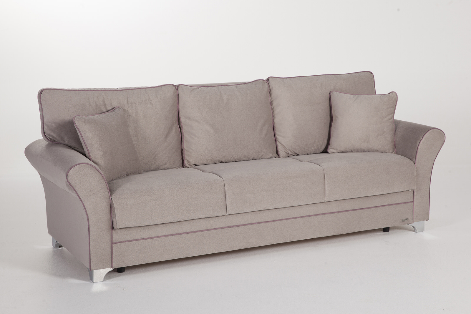 Padova paris gray convertible sofa bed by sunset for Convertible paris