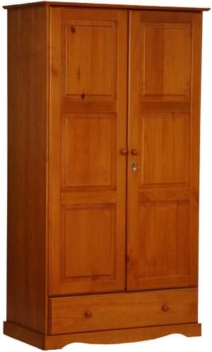 Universal Wardrobe Honey Pine By Palace Imports