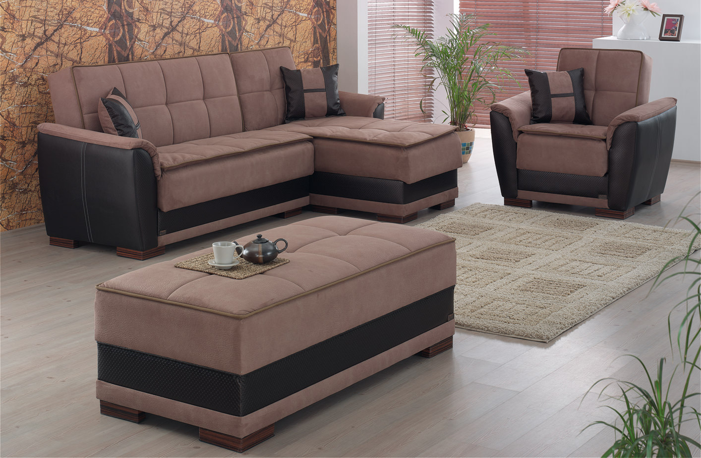 Pleasant Princeton Sectional Sofa Set By Meyan Furniture Gmtry Best Dining Table And Chair Ideas Images Gmtryco