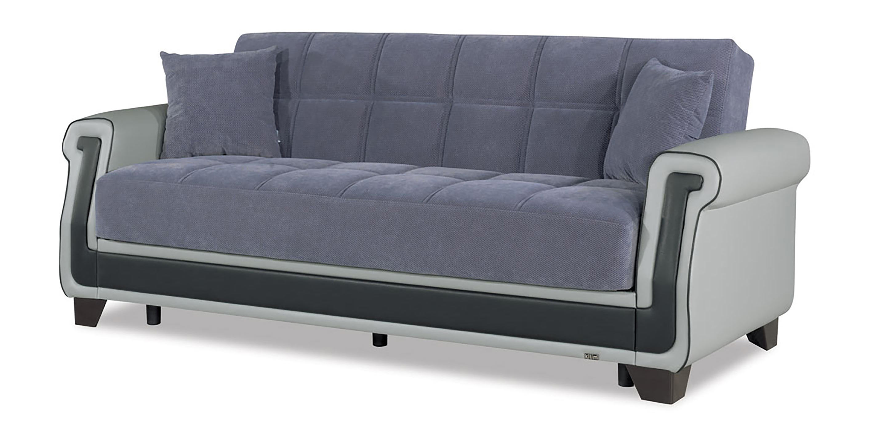 Miraculous Proline Gray Convertible Sofa Bed By Casamode Pdpeps Interior Chair Design Pdpepsorg