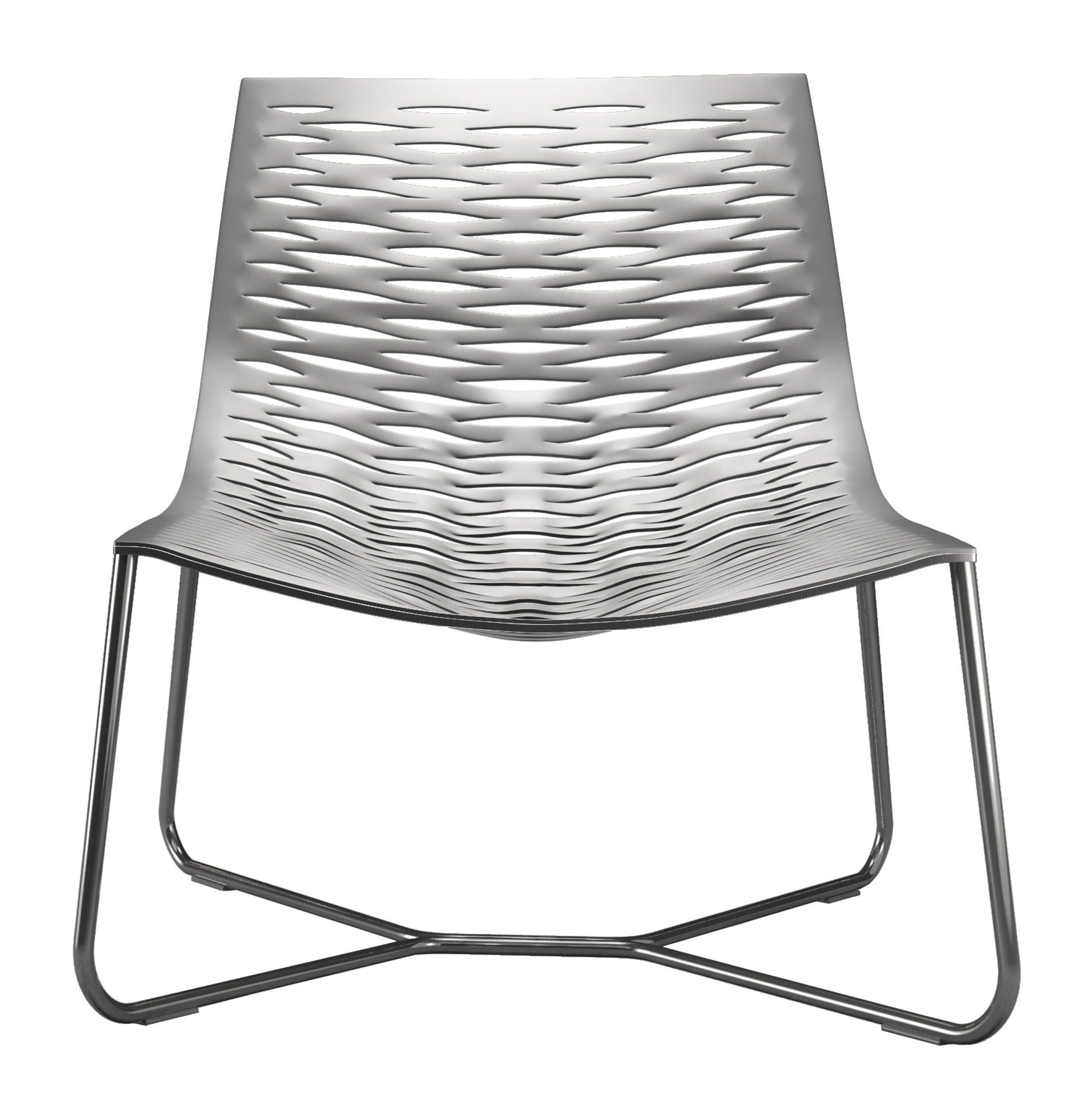 Stupendous York Lounge Chair Bright White By Modloft Machost Co Dining Chair Design Ideas Machostcouk